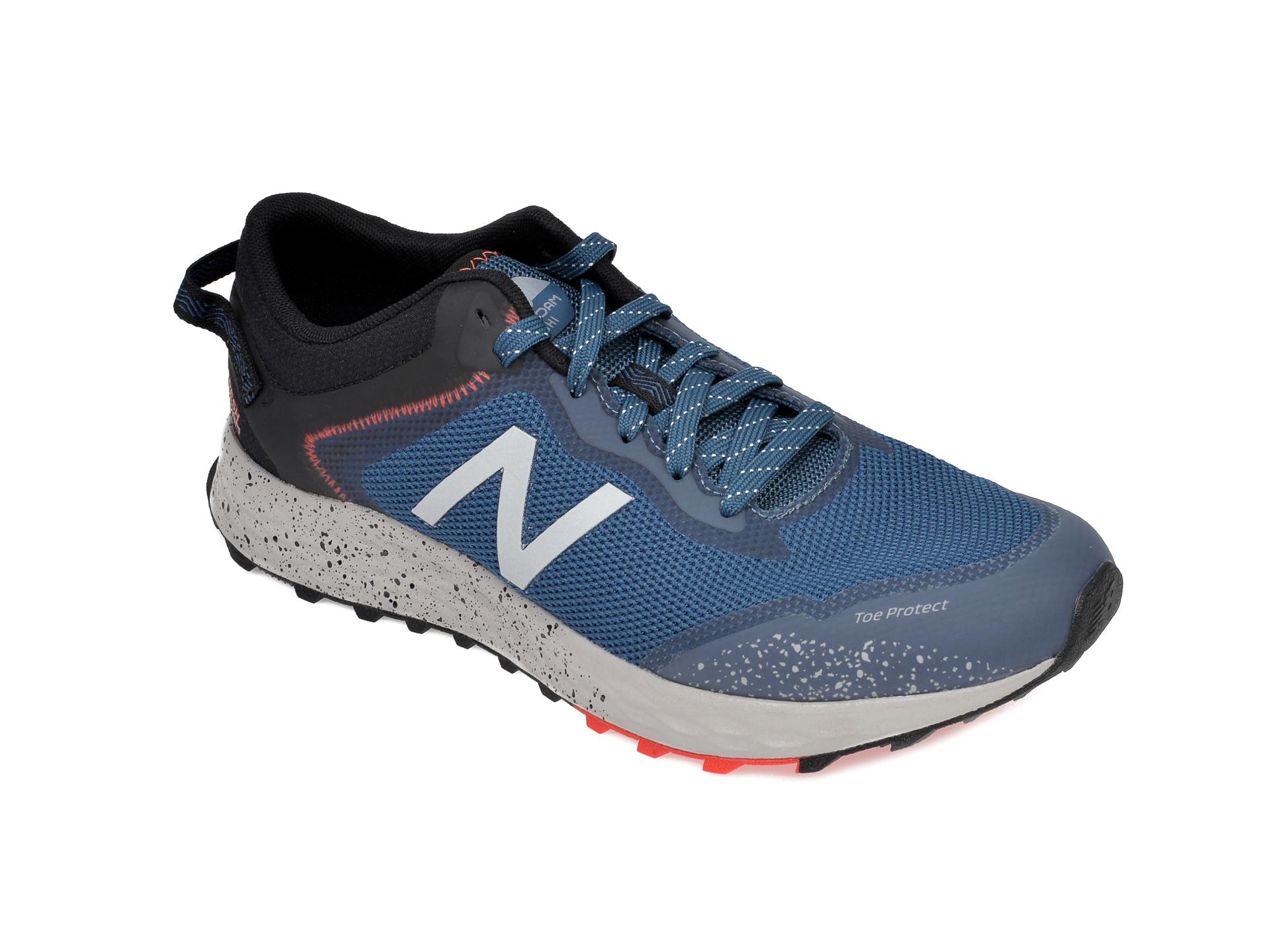 Pantofi sport NEW BALANCE bleumarin, MTARI, din material textil imagine