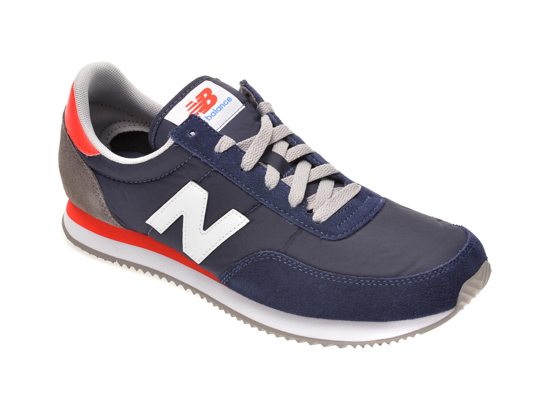 Pantofi sport NEW BALANCE bleumarin, UL720, din material textil si piele intoarsa imagine