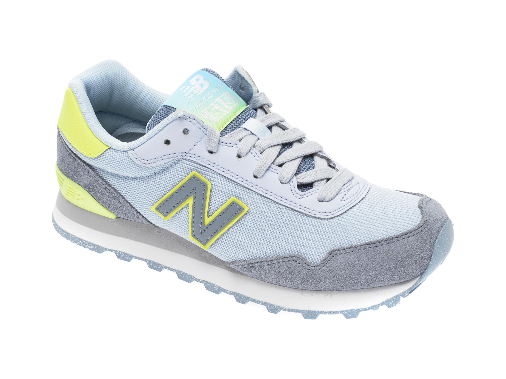 Pantofi sport NEW BALANCE gri, WS515, din material textil
