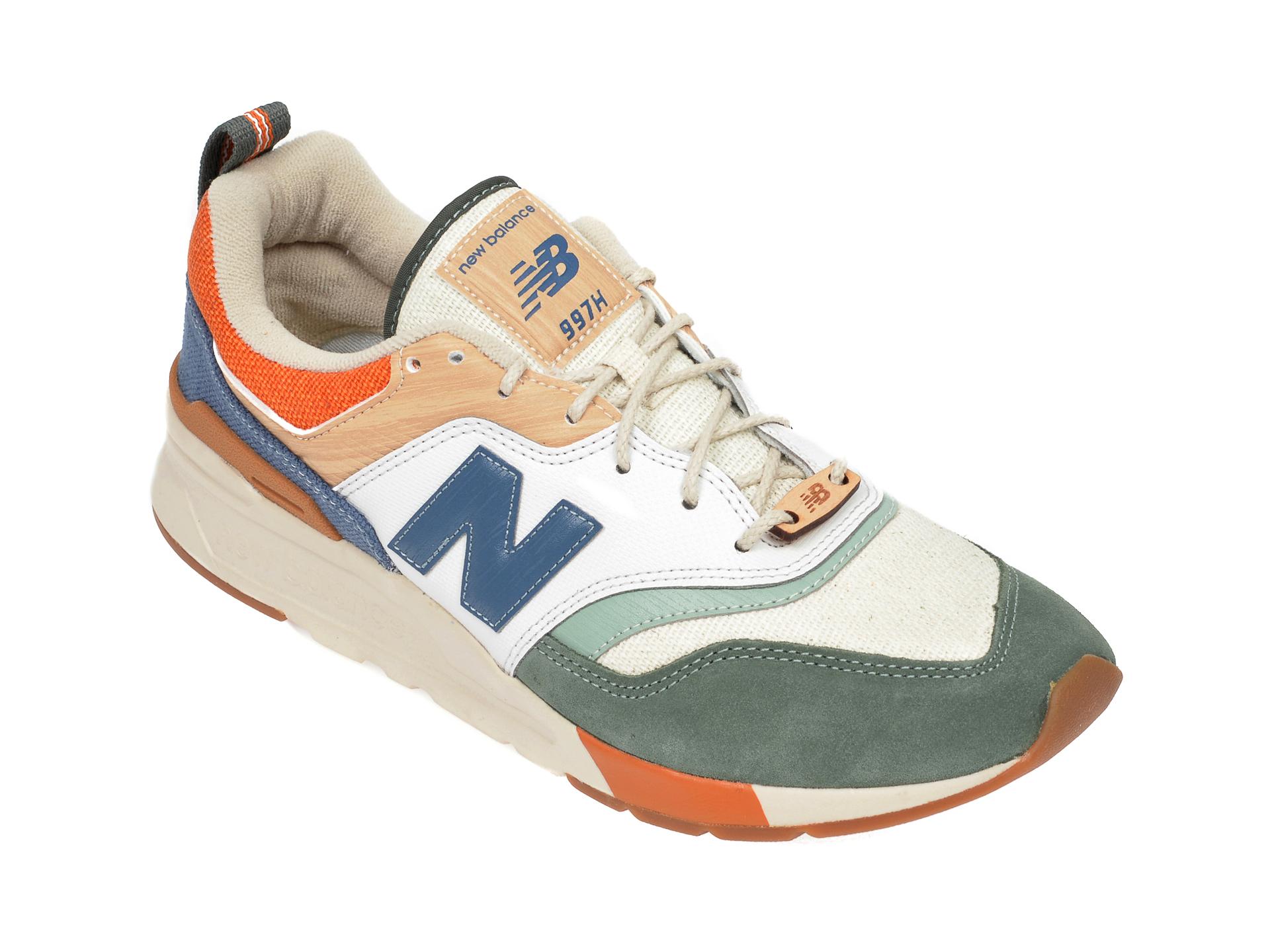 Pantofi sport NEW BALANCE multicolor, CM997, din material textil si piele intoarsa imagine