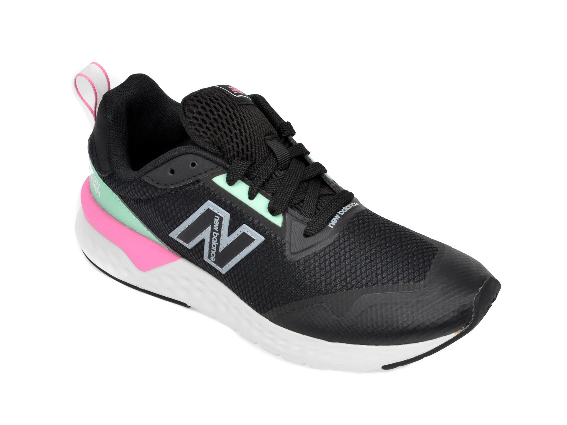 Pantofi sport NEW BALANCE negri, WS515, din material textil imagine