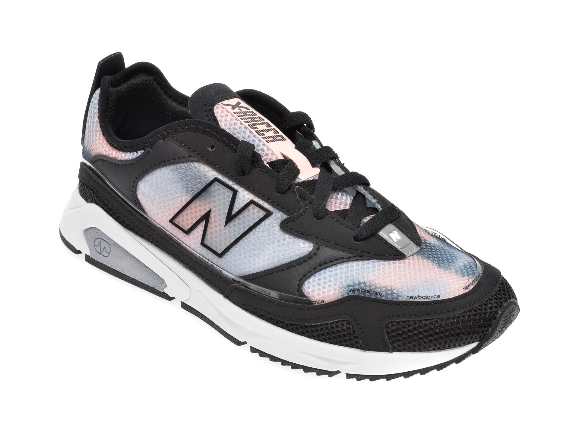 Pantofi sport NEW BALANCE negri, WSXR, din material textil si piele ecologica
