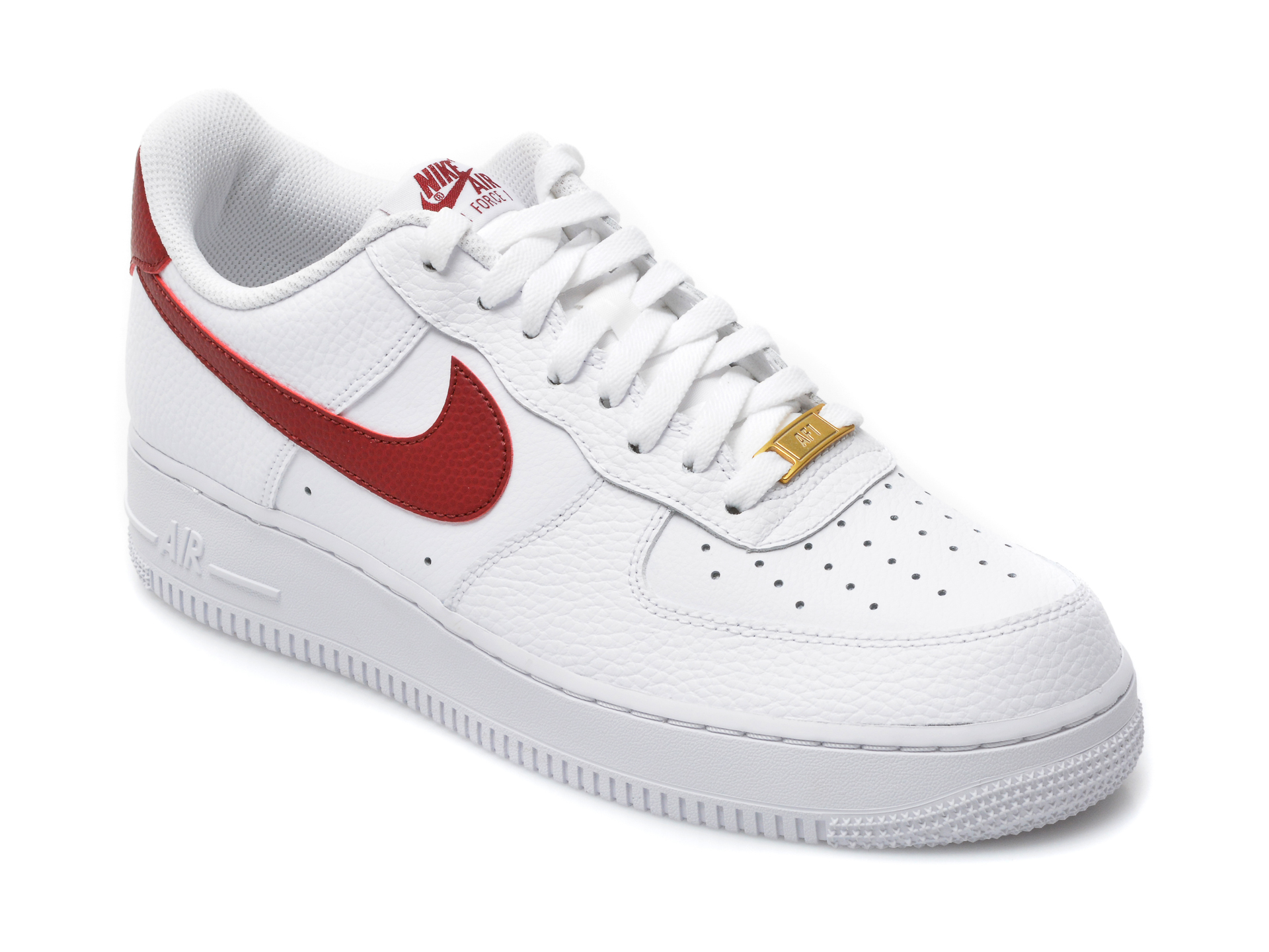 Pantofi sport NIKE albi, CZ0326, din piele naturala