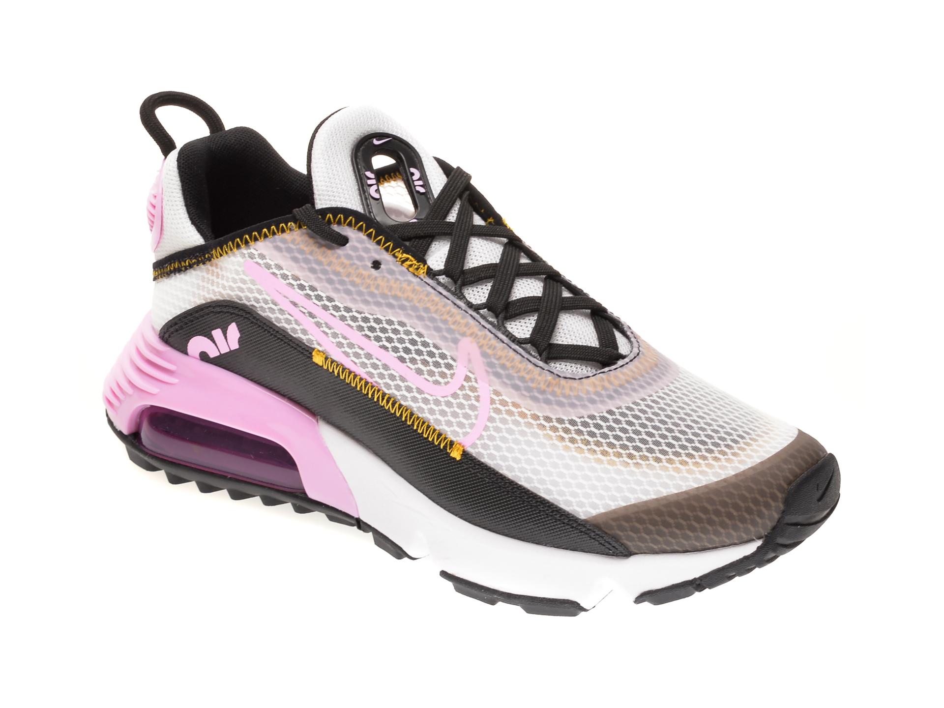 Pantofi sport NIKE albi, NIKE AIR MAX 2090 BG, din material textil