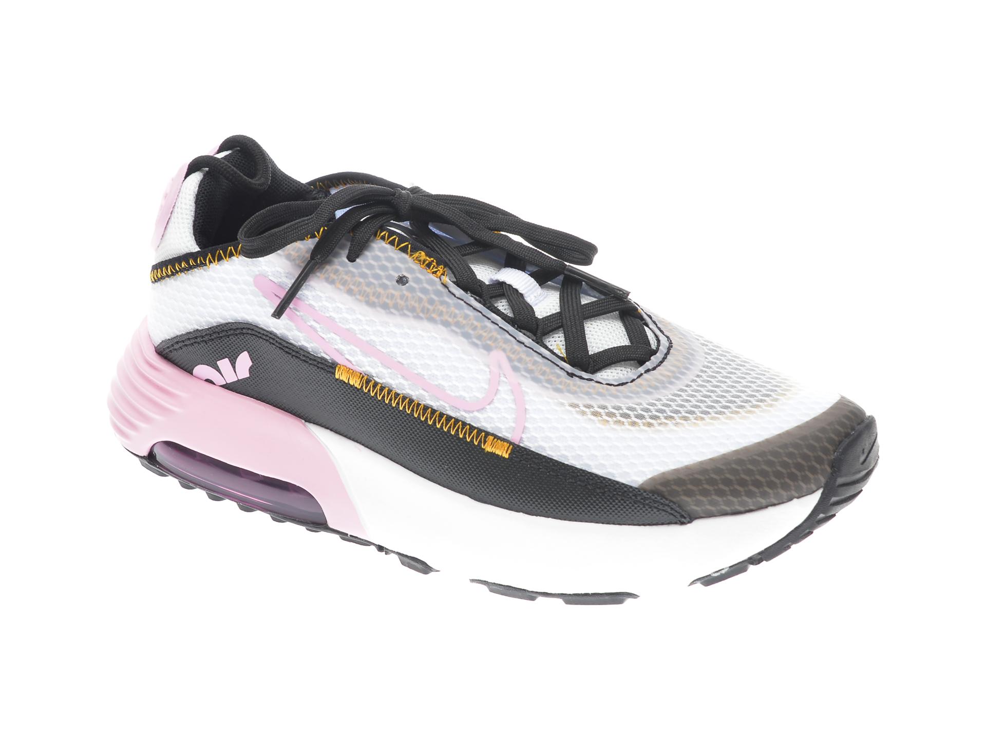 Pantofi sport NIKE albi, NIKE AIR MAX 2090 BP, din material textil