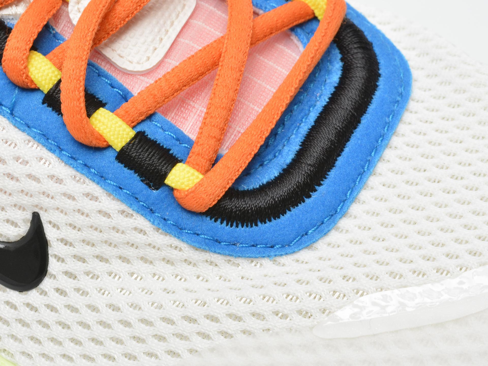 Pantofi sport NIKE albi, NIKE REACT LIVE (GS), din material textil - 2