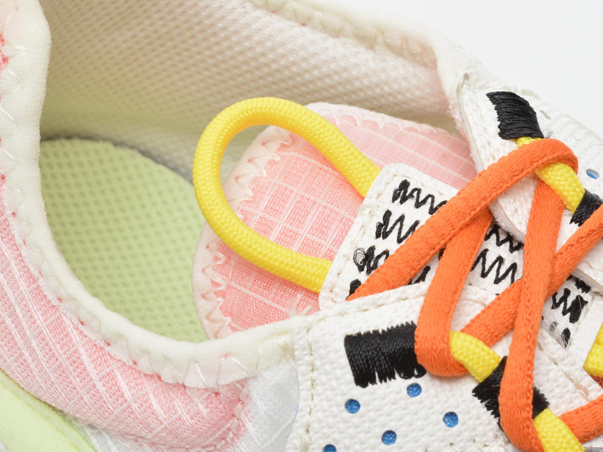Pantofi sport NIKE albi, NIKE REACT LIVE (GS), din material textil - 3