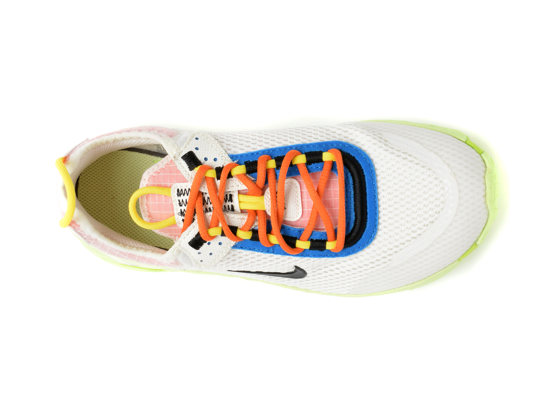Pantofi sport NIKE albi, NIKE REACT LIVE (GS), din material textil - 6