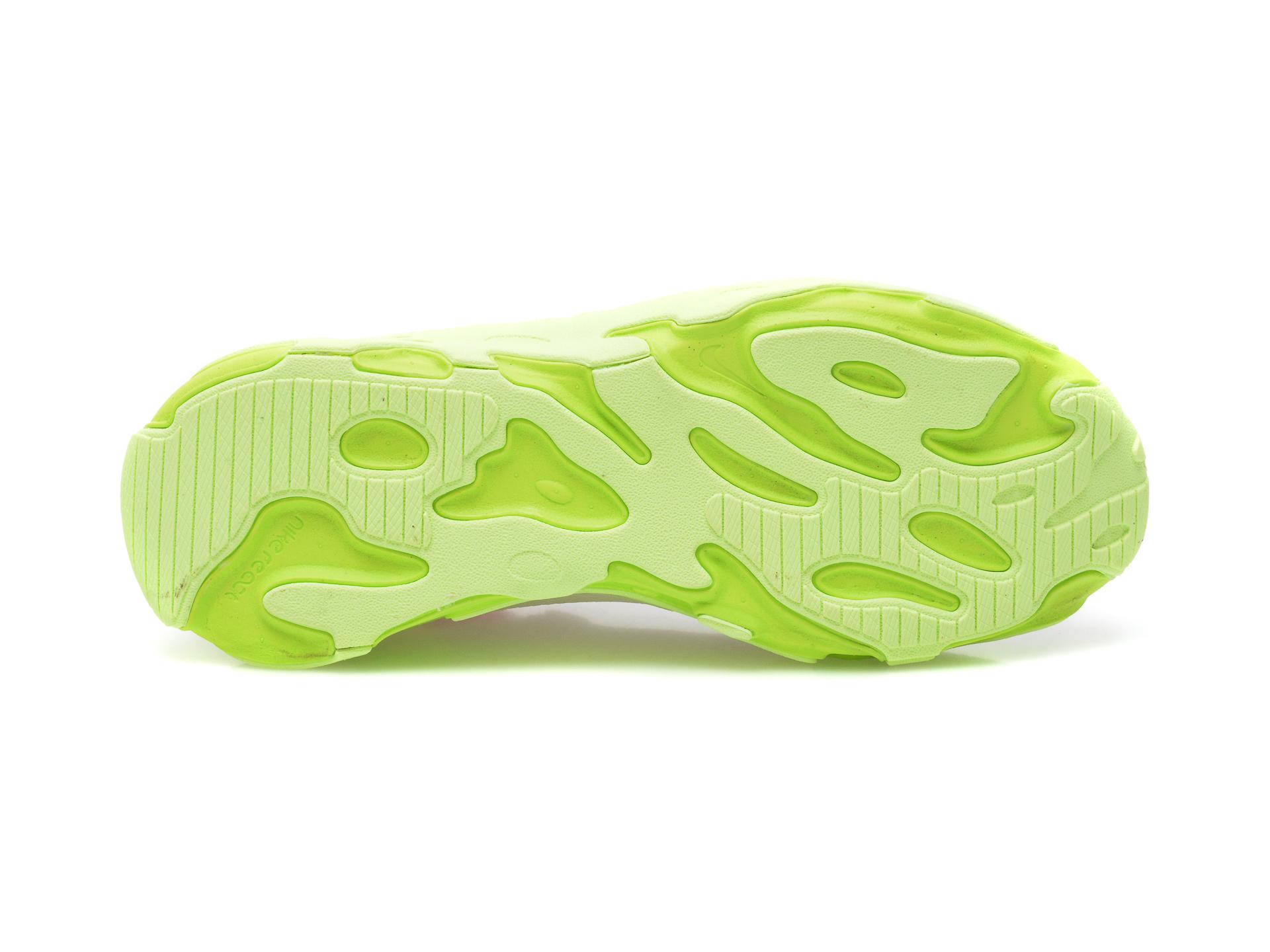 Pantofi sport NIKE albi, NIKE REACT LIVE (GS), din material textil - 7