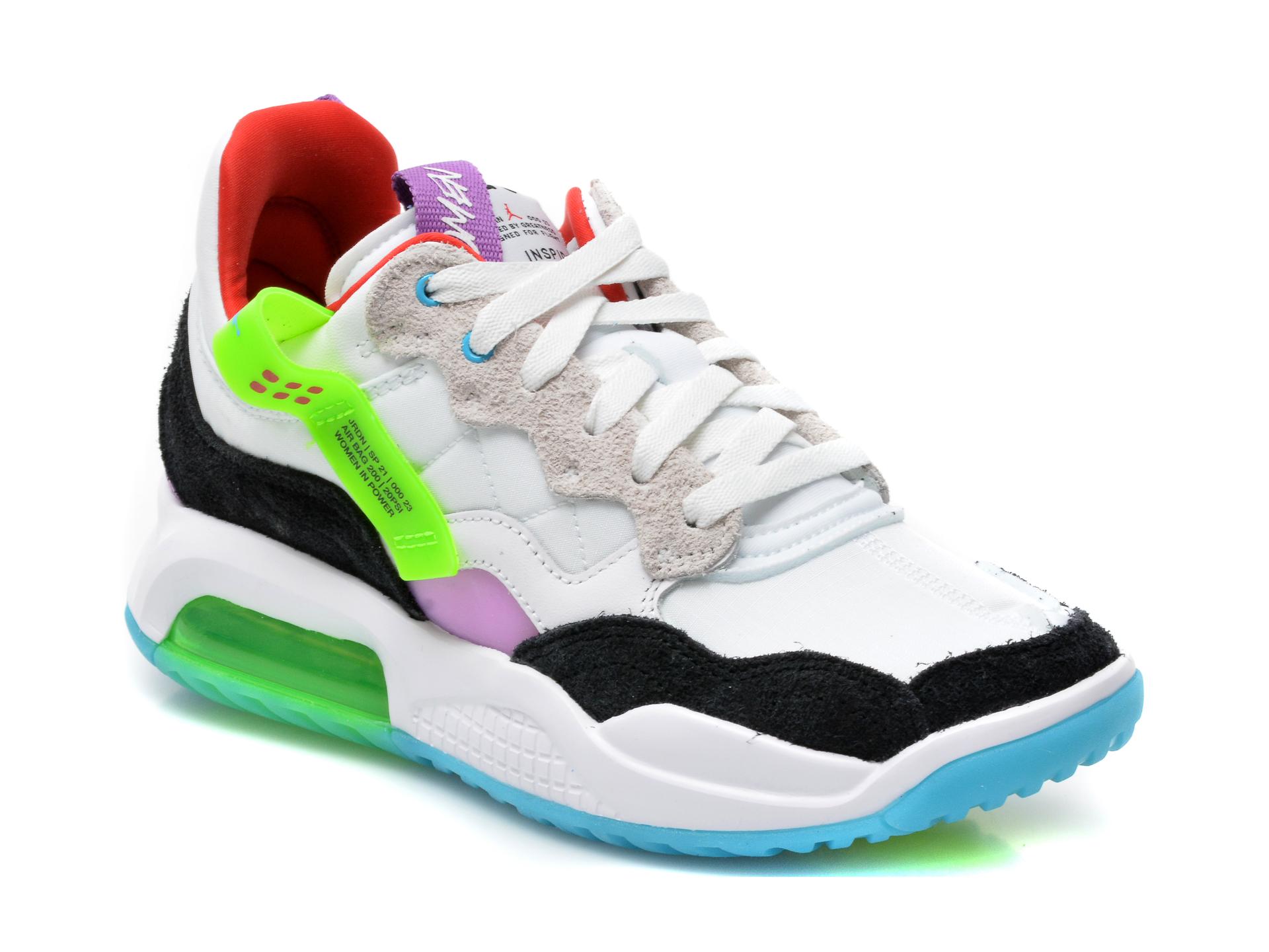 Pantofi sport NIKE albi, Wmns Jordan Ma2, din material textil