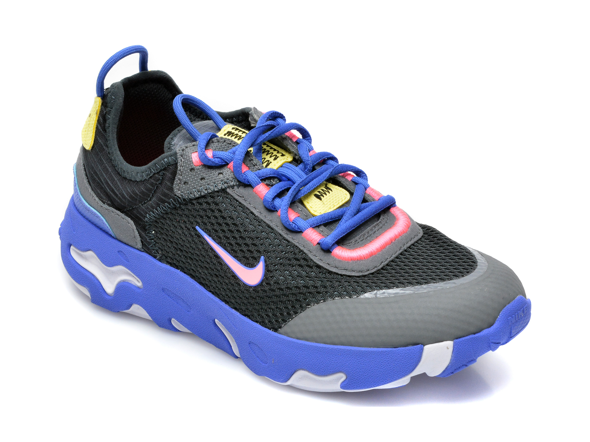 Pantofi sport NIKE gri, Nike React Live (Gs), din material textil imagine otter.ro