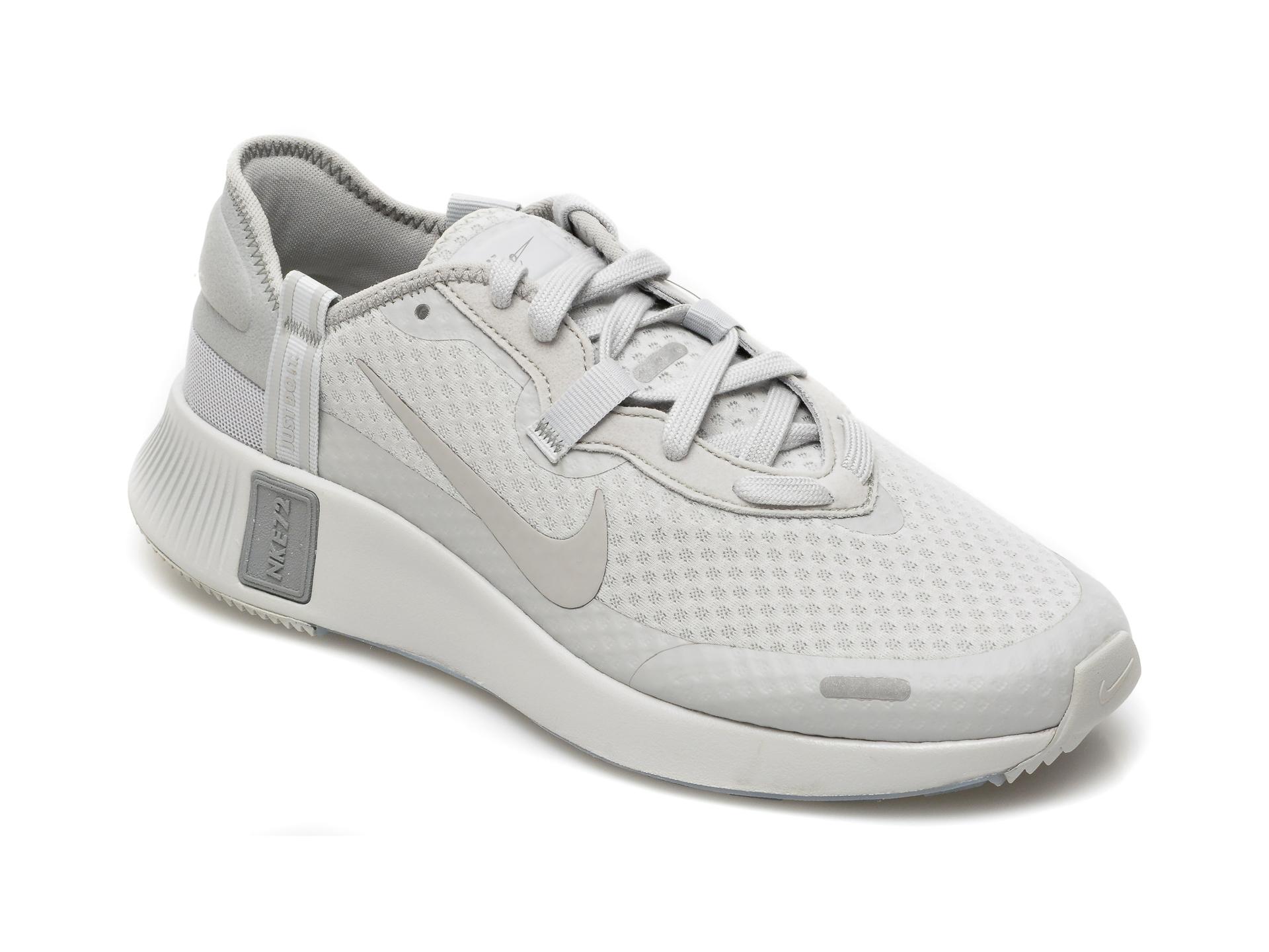 Pantofi sport NIKE gri, Nike Reposto, din material textil imagine