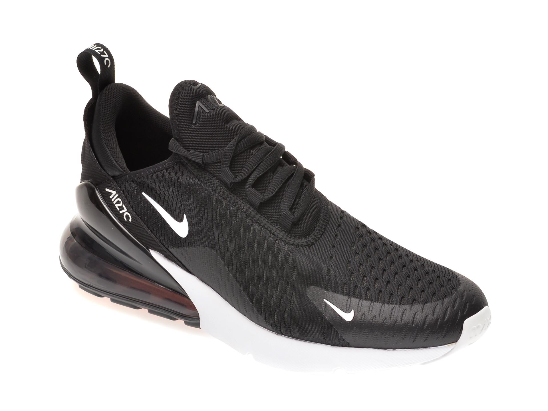 Pantofi sport NIKE negri, AIR MAX 270, din material textil