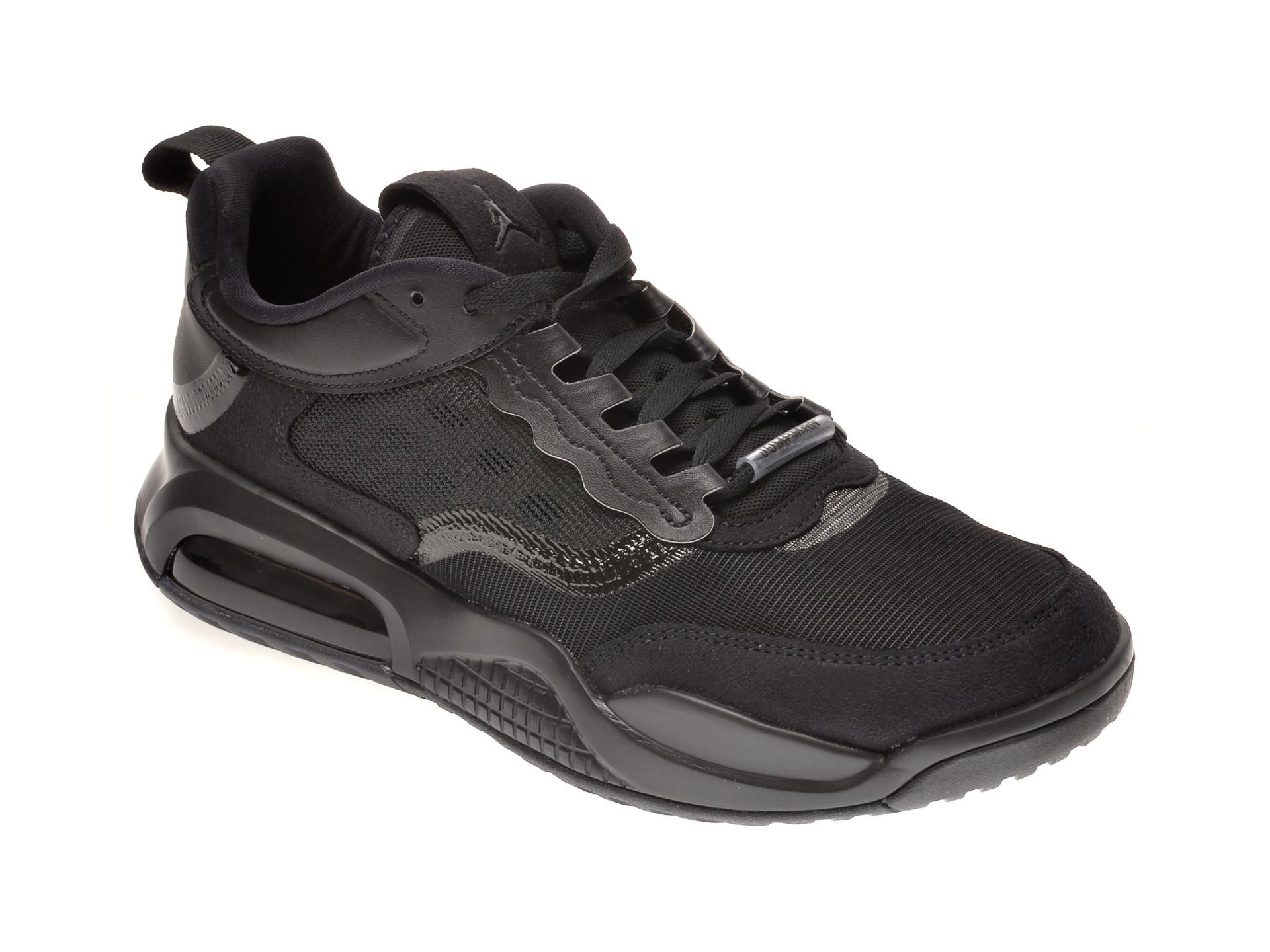 Pantofi sport NIKE negri, JORDAN MAX 200, din material textil si piele ecologica imagine