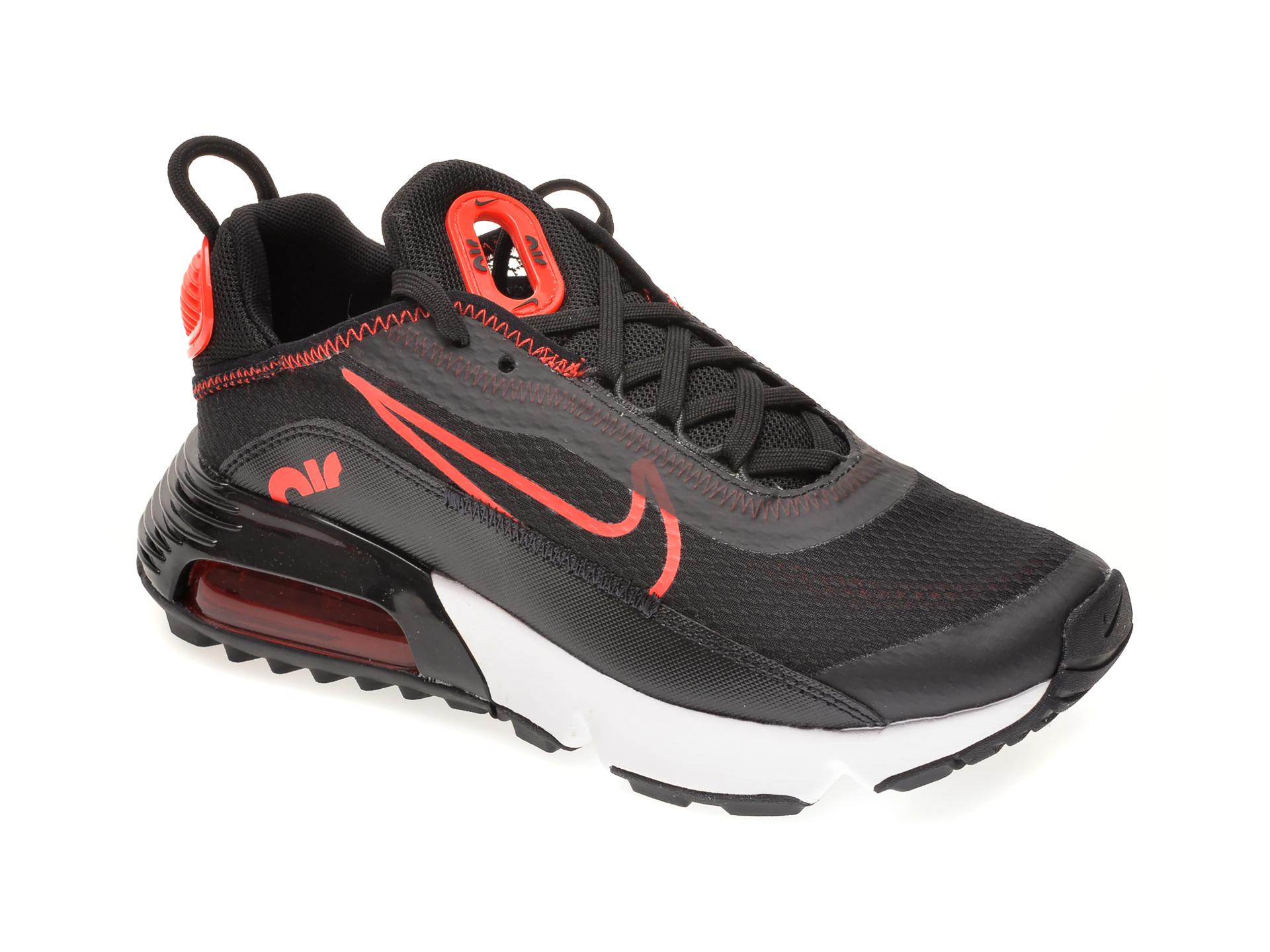 Pantofi sport NIKE negri, NIKE AIR MAX 2090 BG, din material textil