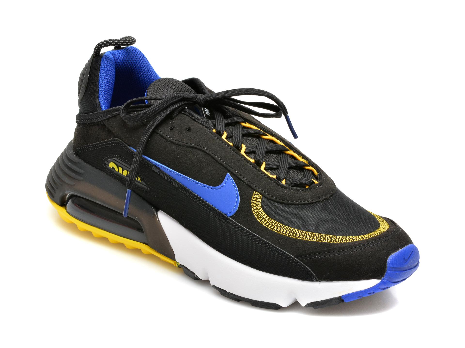 Pantofi sport NIKE negri, NIKE AIR MAX 2090 C/S, din material textil