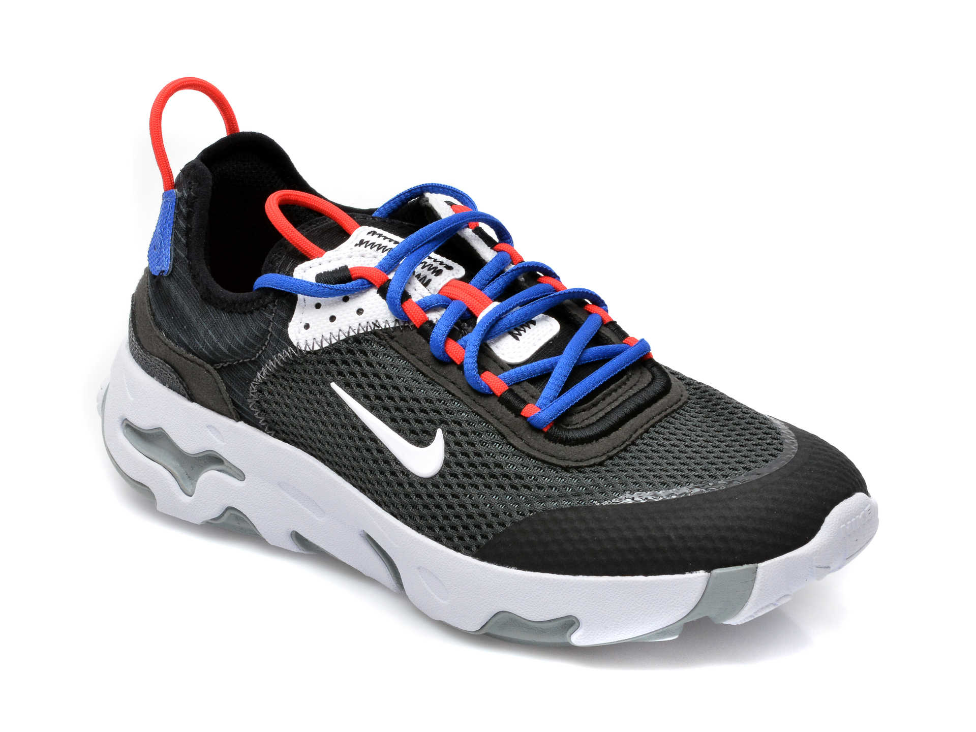 Pantofi sport NIKE negri, Nike React Live (Gs), din material textil