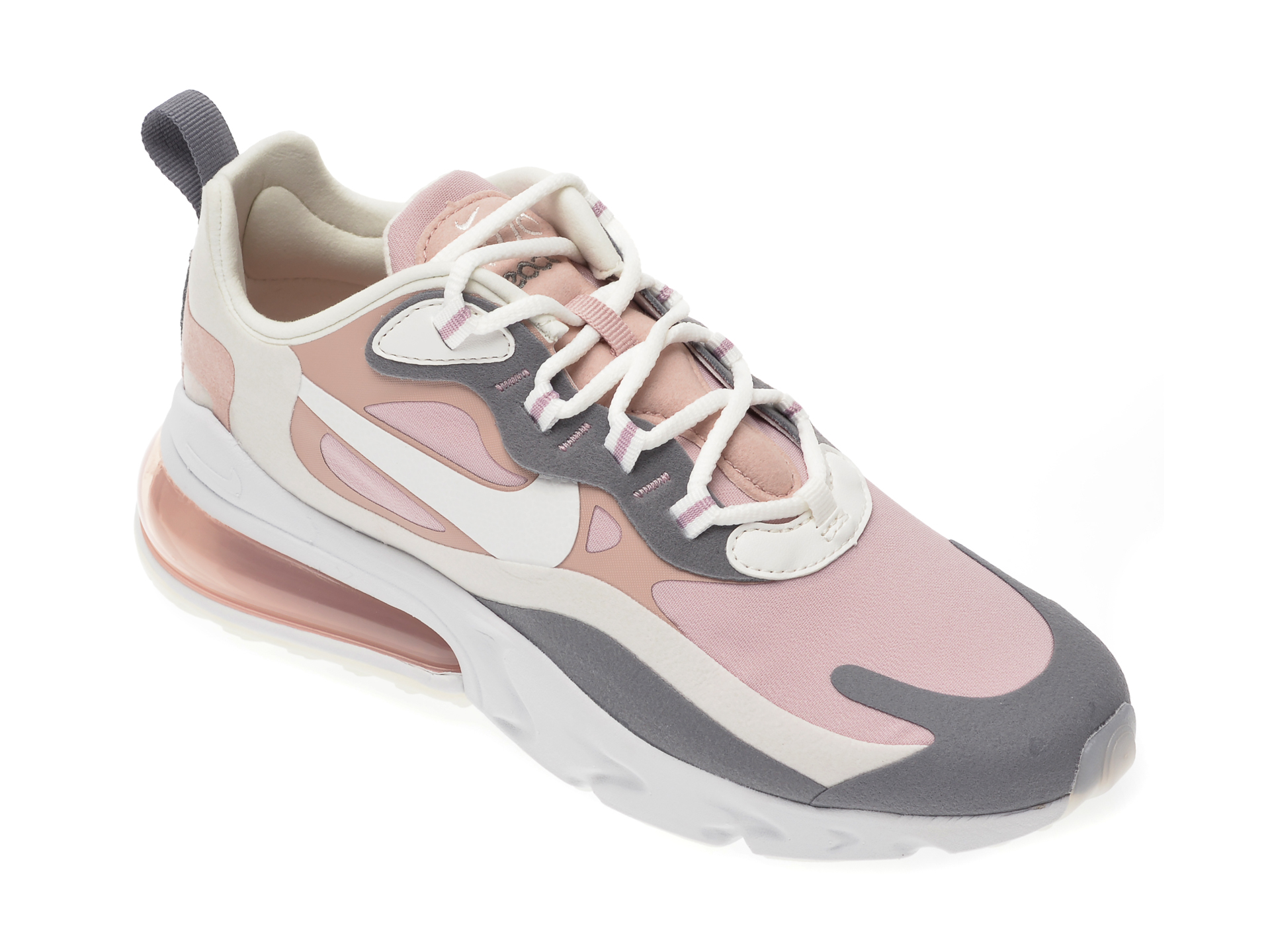Pantofi sport NIKE roz, Air Max 270 React, din material textil imagine