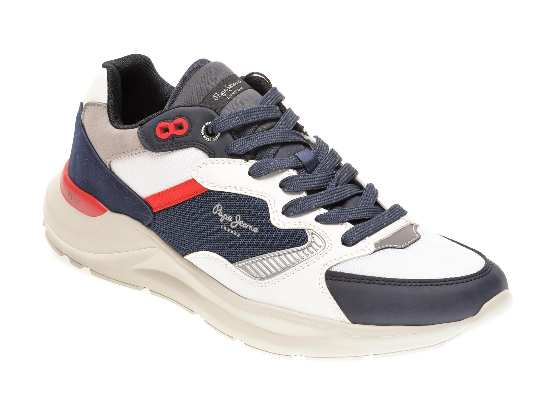 Pantofi sport PEPE JEANS albastri, MS30667, din material textil