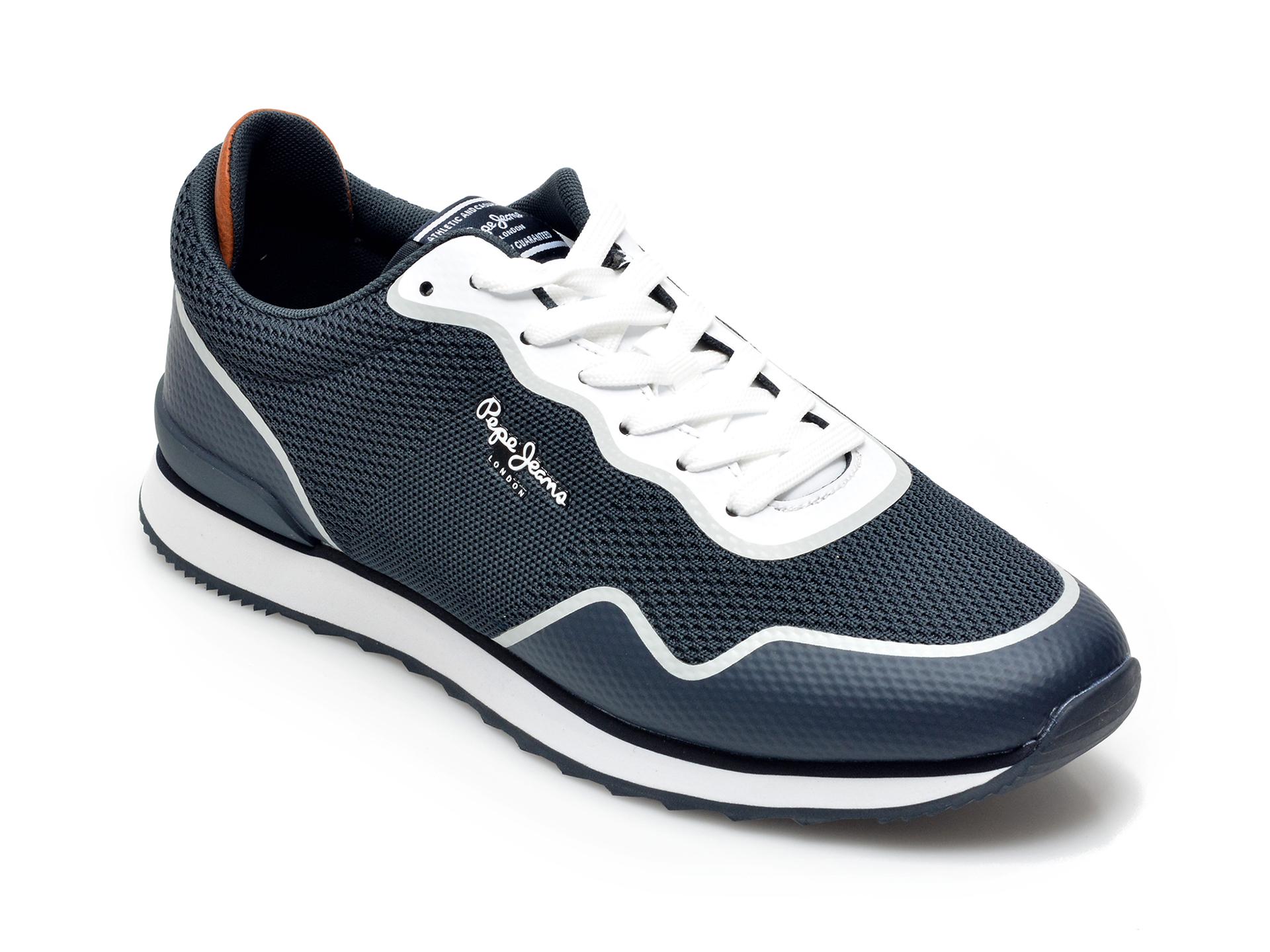 Pantofi sport PEPE JEANS bleumarin, 3070699, din material textil si piele ecologica imagine otter.ro 2021