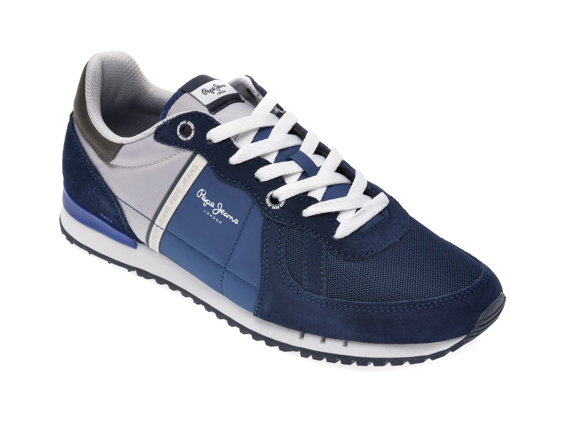 Pantofi sport PEPE JEANS bleumarin, MS30612, din material textil imagine