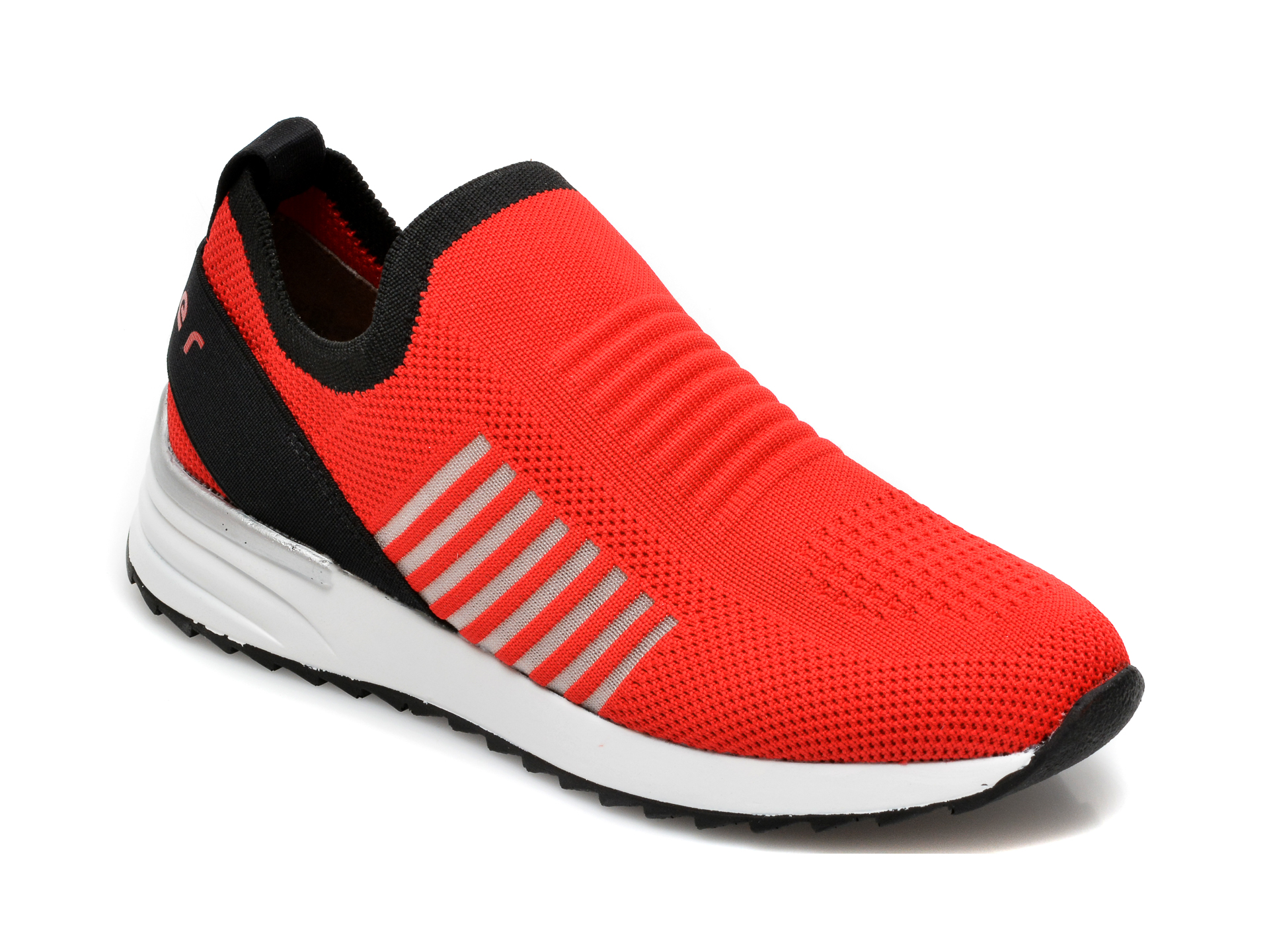 Pantofi sport RIEKER rosii, N8072, din material textil imagine otter.ro 2021