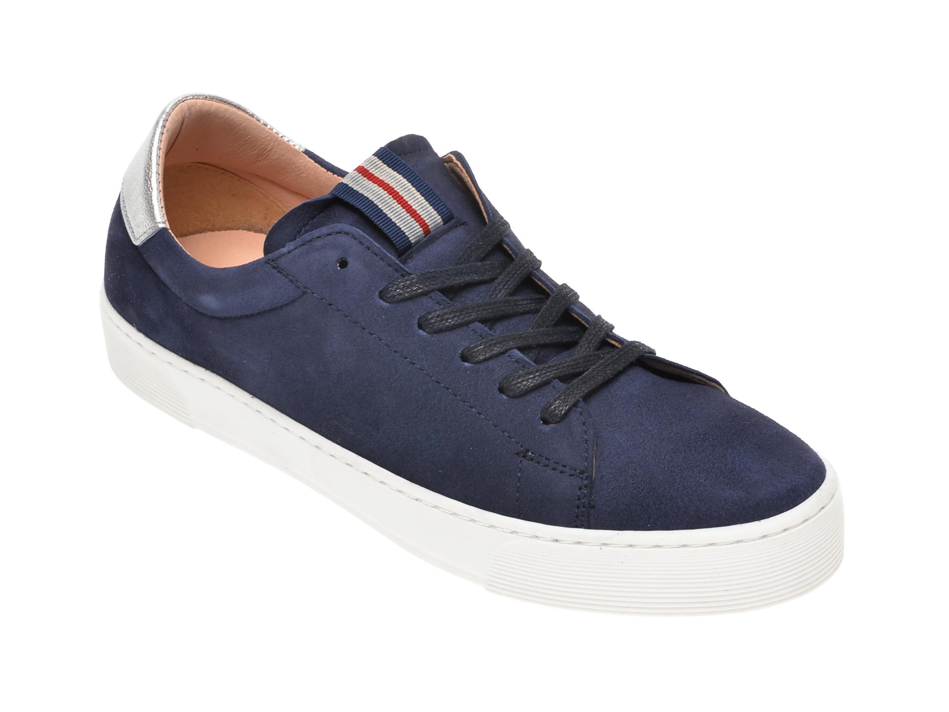 Pantofi sport SALAMANDER bleumarin, 55301, din piele intoarsa