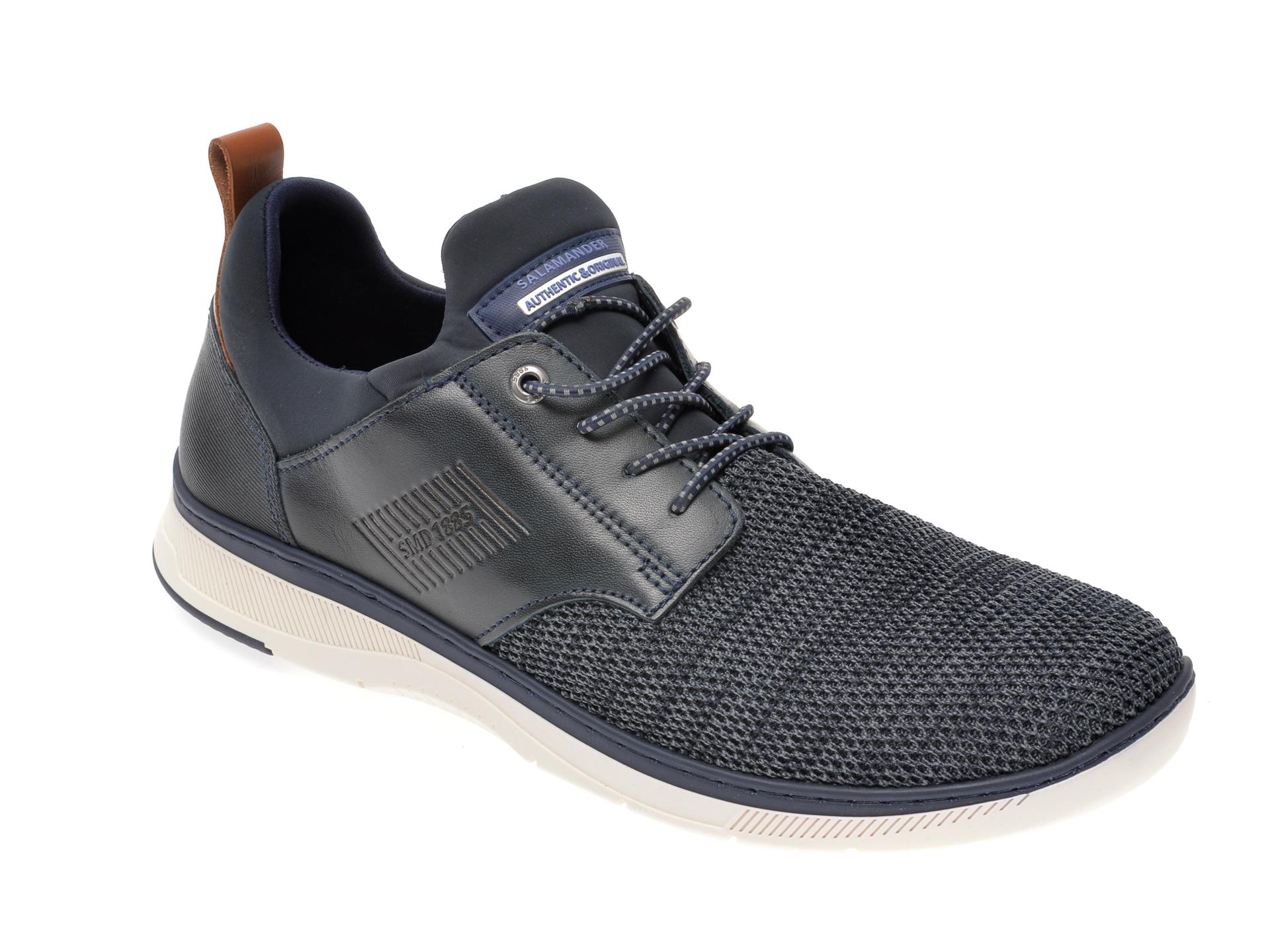 Pantofi sport SALAMANDER bleumarin, 60401, din material textil imagine