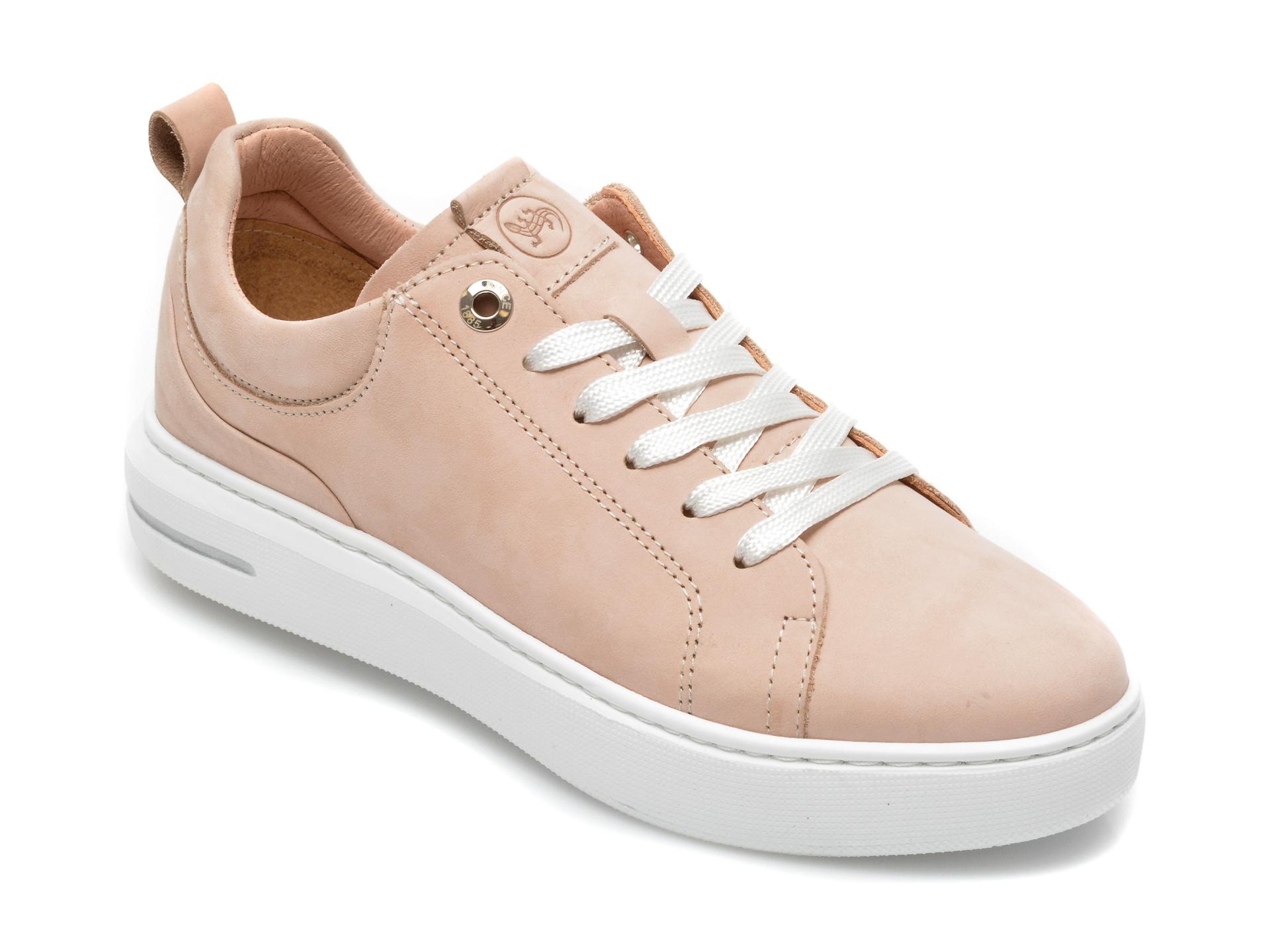 Pantofi sport SALAMANDER nude, 56902, din piele naturala imagine otter.ro 2021