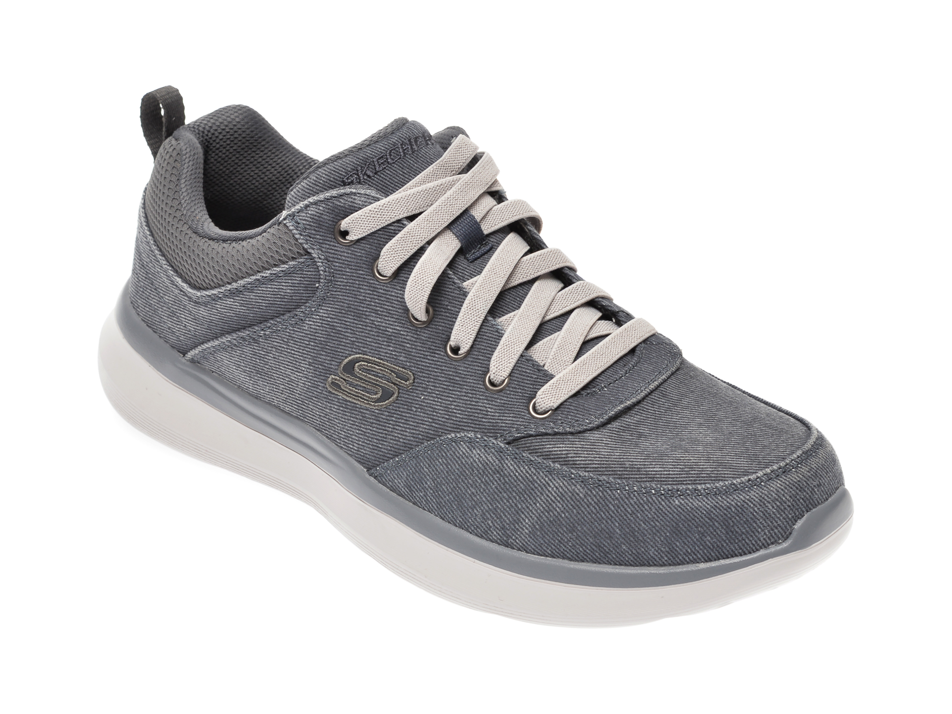 Pantofi sport SKECHERS albastri, Delson 2.0 Kemper, din material textil imagine