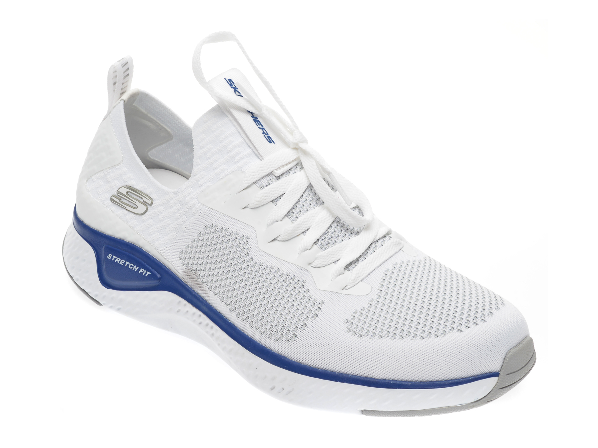 Pantofi sport SKECHERS albi, Solar Fuse, din material textil imagine