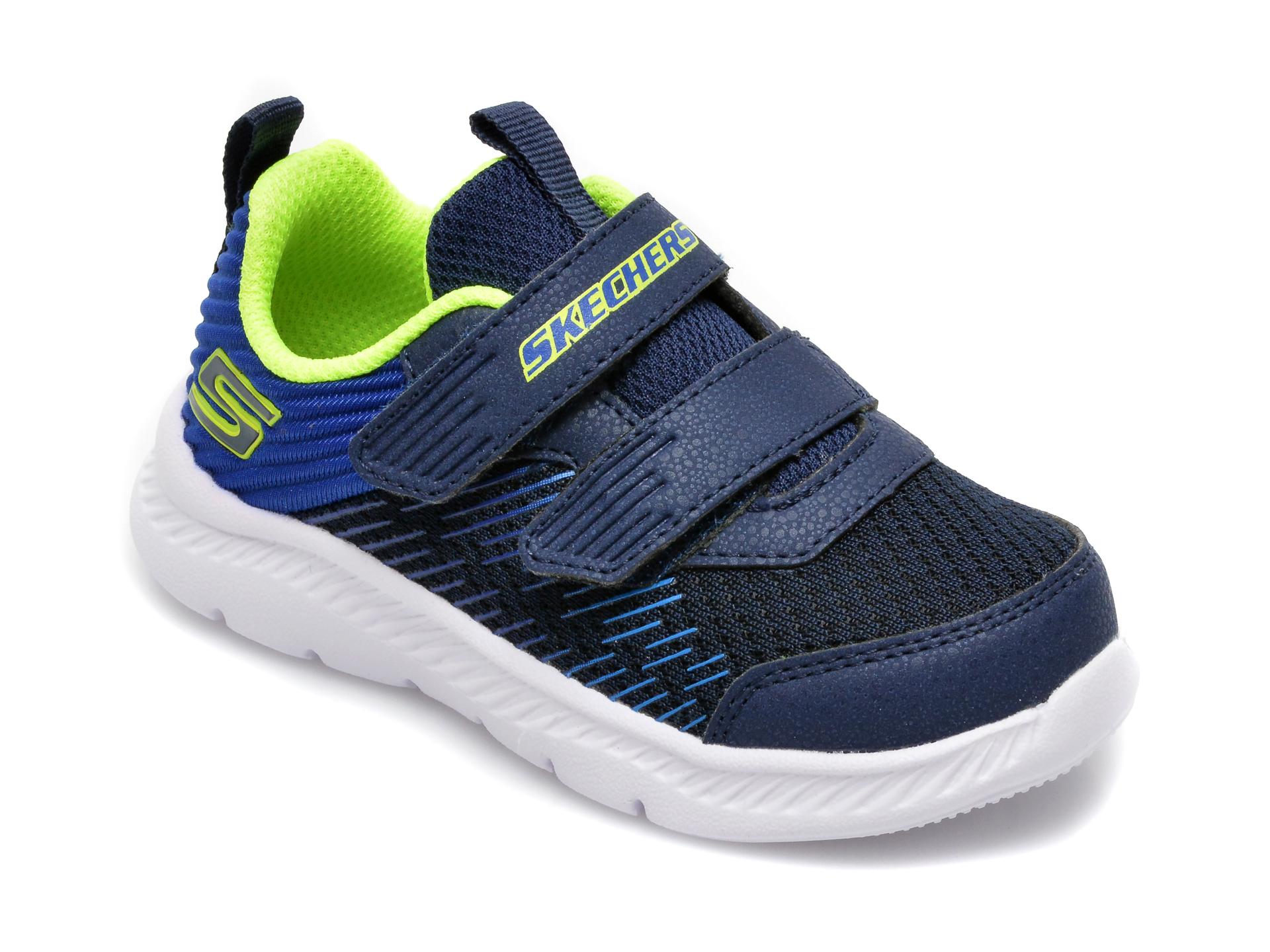 Pantofi sport SKECHERS bleumarin, Comfy Flex 2.0 Micro-Rush, din material textil