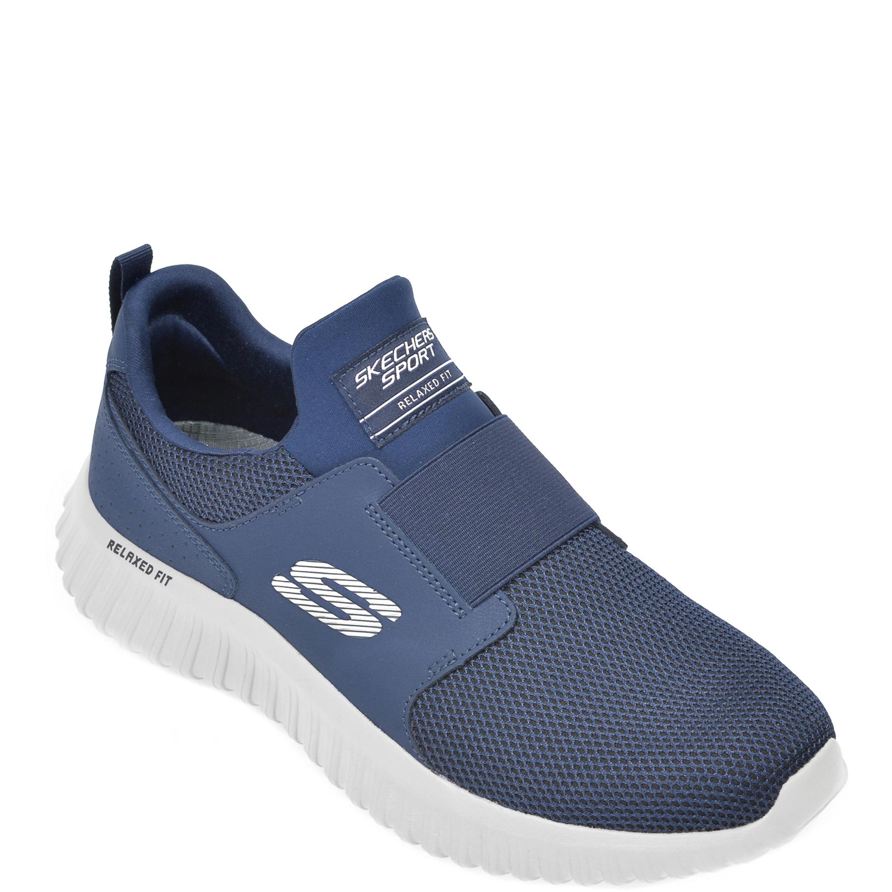 Pantofi sport SKECHERS bleumarin, Depth Charge 2.0, din material textil imagine