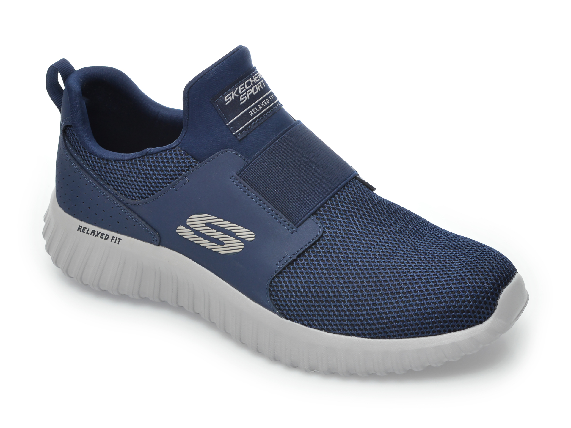 Pantofi sport SKECHERS bleumarin, Depth Charge 2.0, din material textil imagine