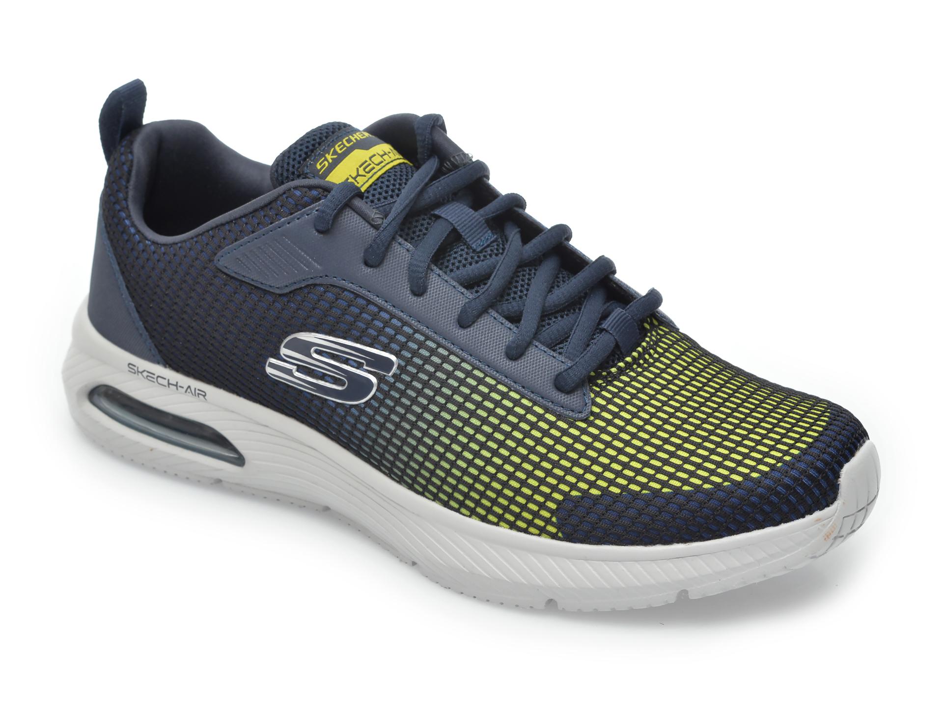 Pantofi sport SKECHERS bleumarin, Dyna-Air Blyce, din material textil imagine