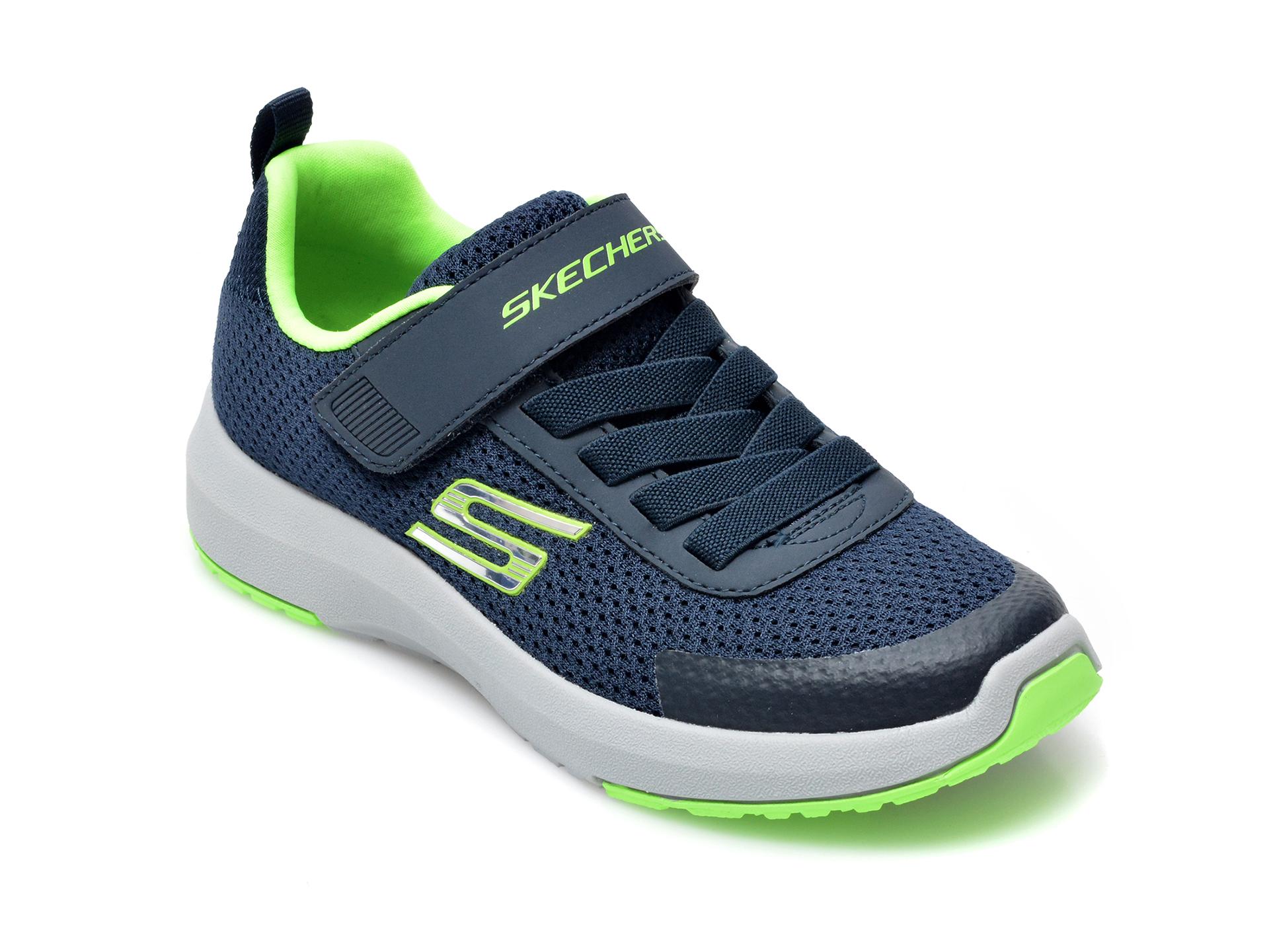 Pantofi sport SKECHERS bleumarin, Dynamic Tread, din material textil