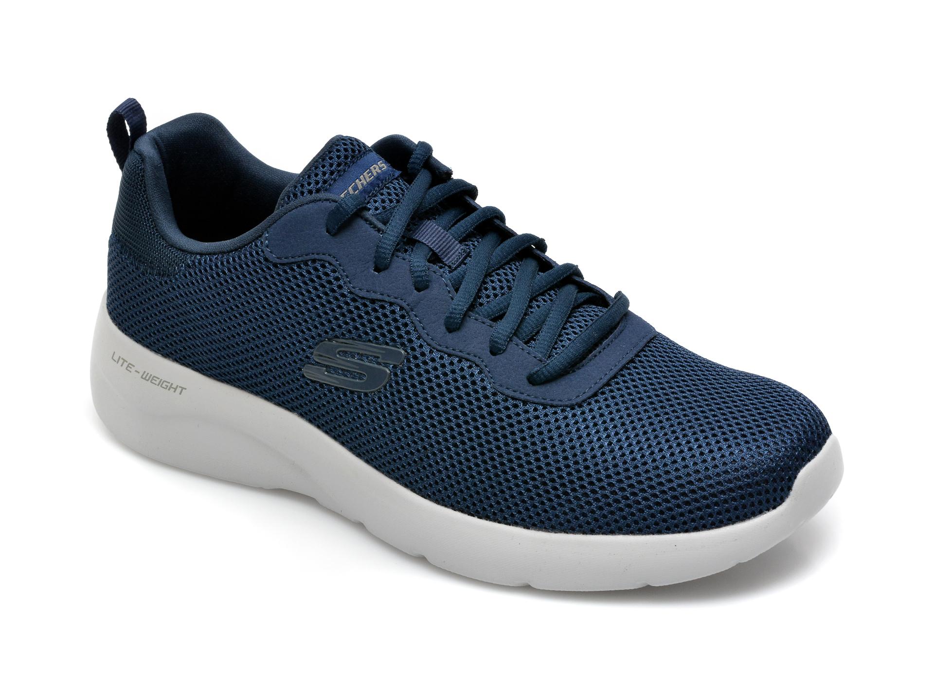 Pantofi sport SKECHERS bleumarin, Dynamight 2.0 Rayhill, din material textil imagine