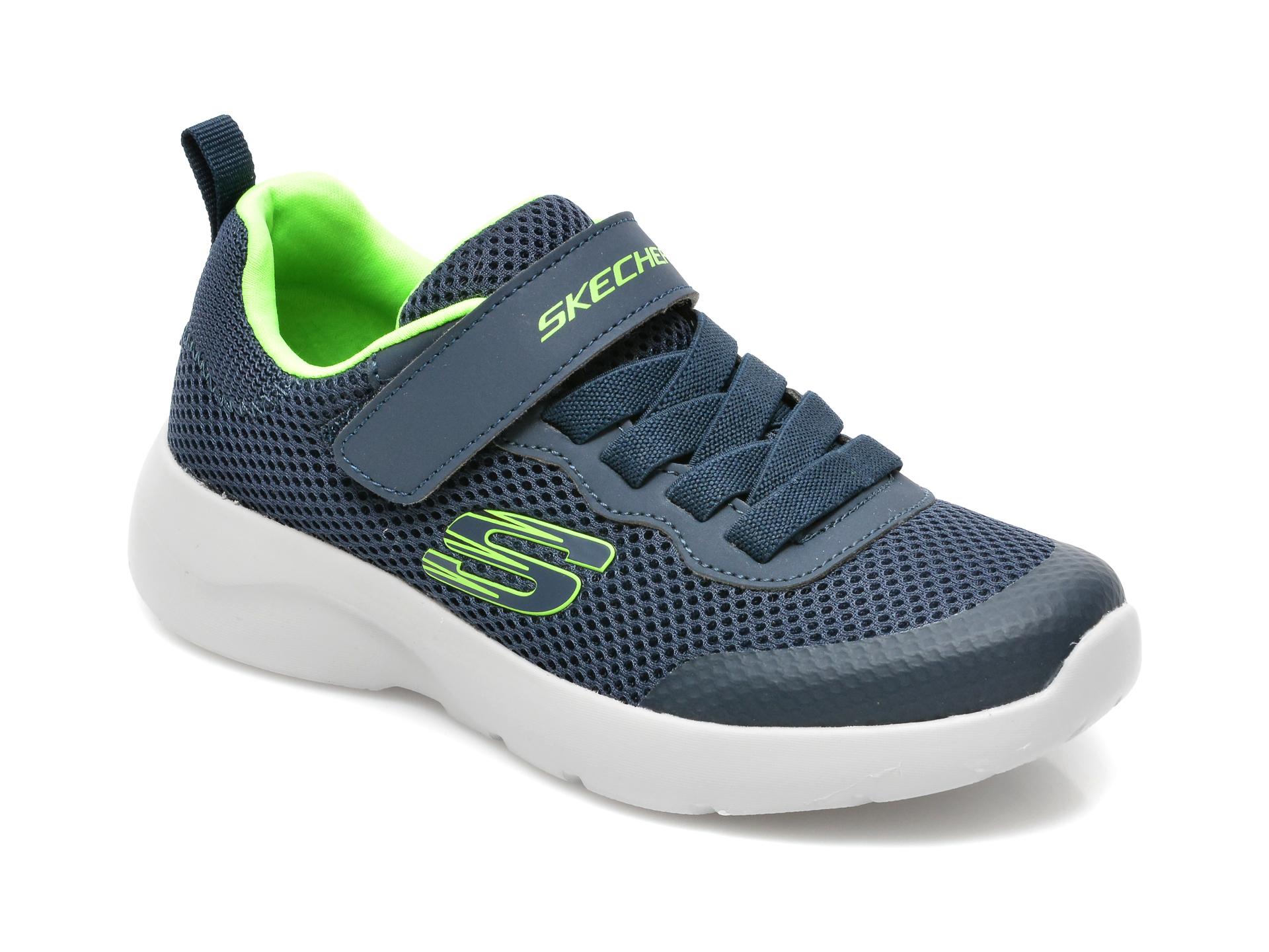 Pantofi sport SKECHERS bleumarin, Dynamight 2.0 Vordix, din material textil