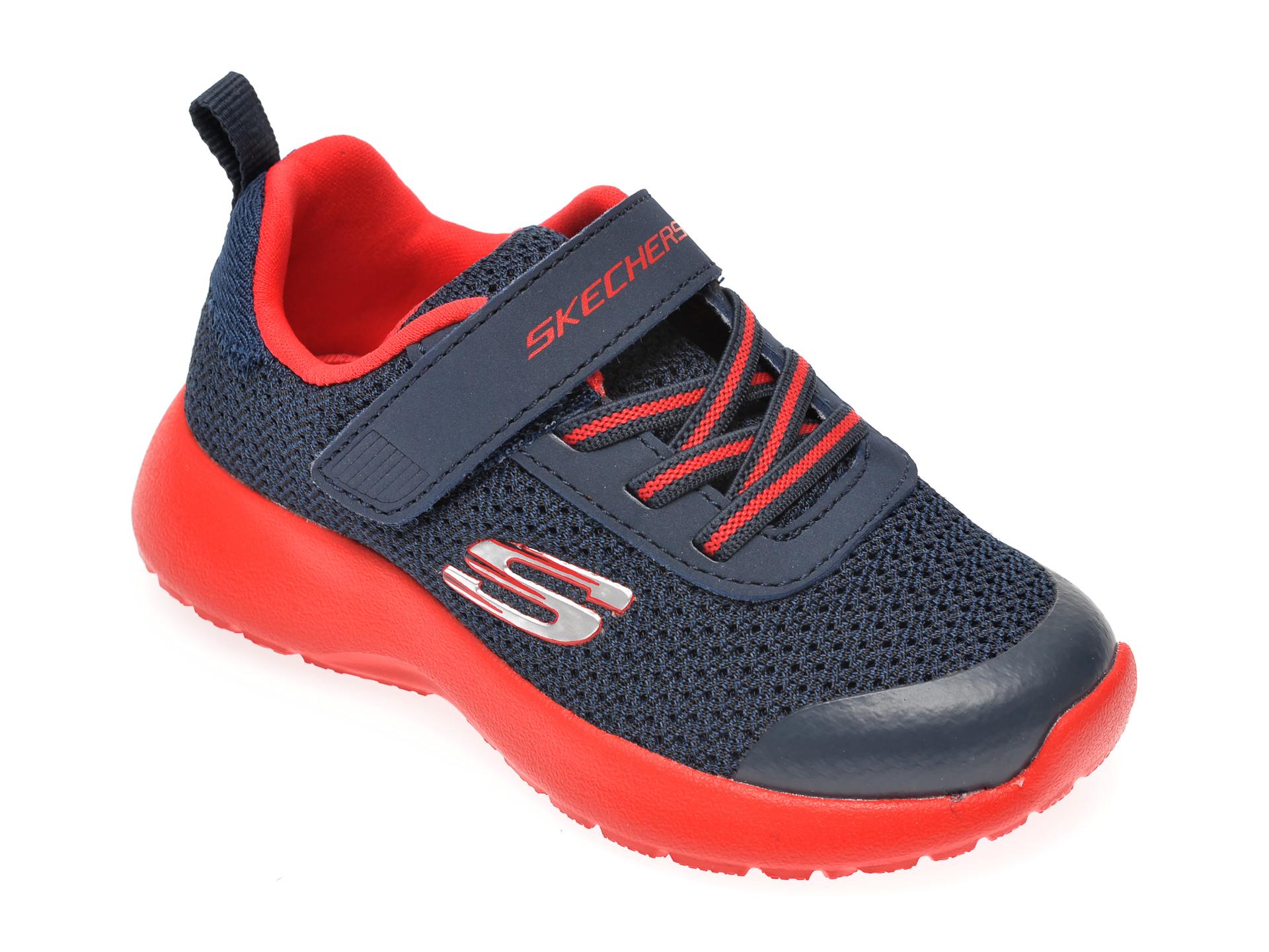 Pantofi sport SKECHERS bleumarin, Dynamight Ultra Torque, din material textil New