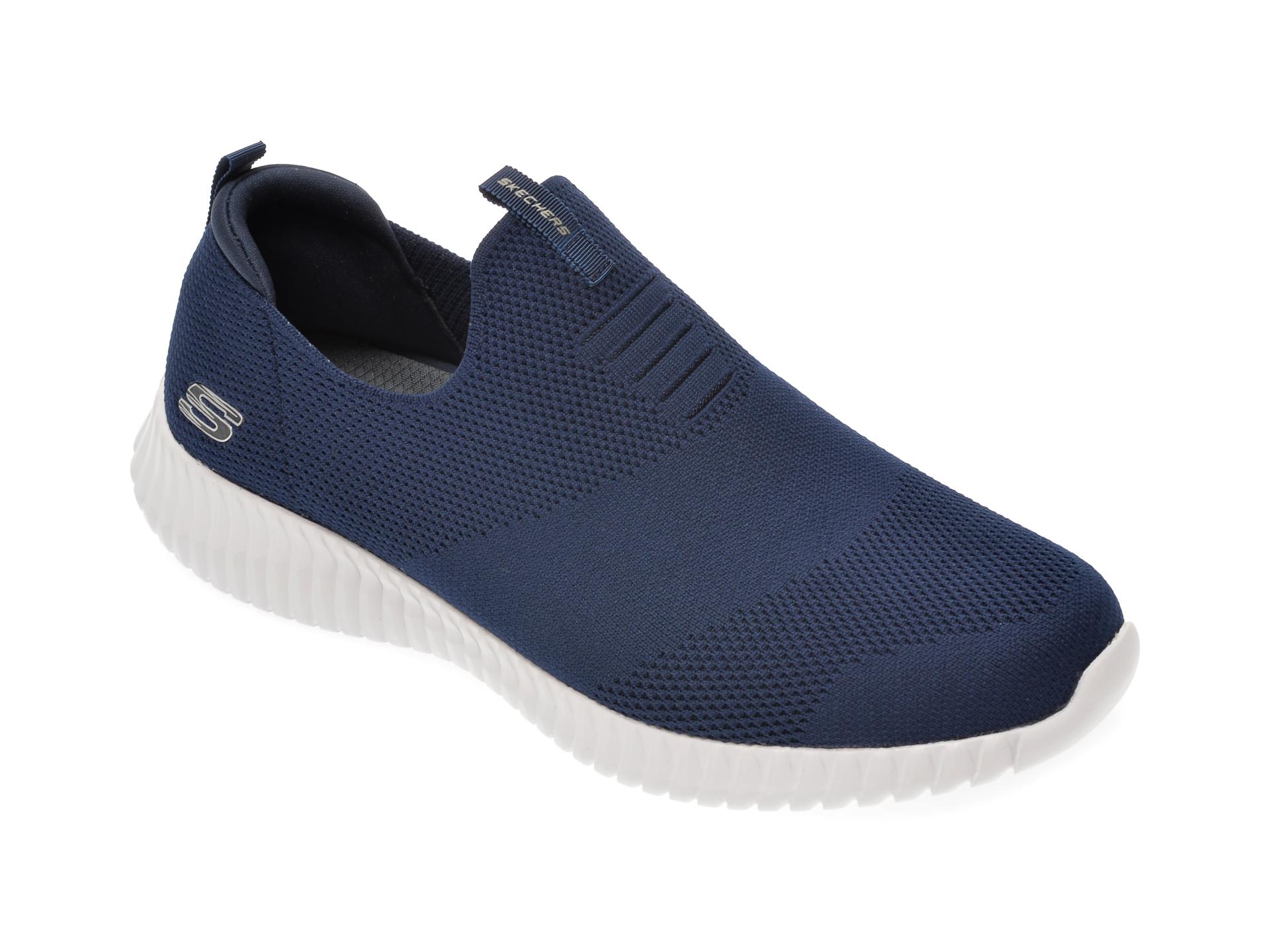Pantofi sport SKECHERS bleumarin, Elite Flex Wasik, din material textil imagine