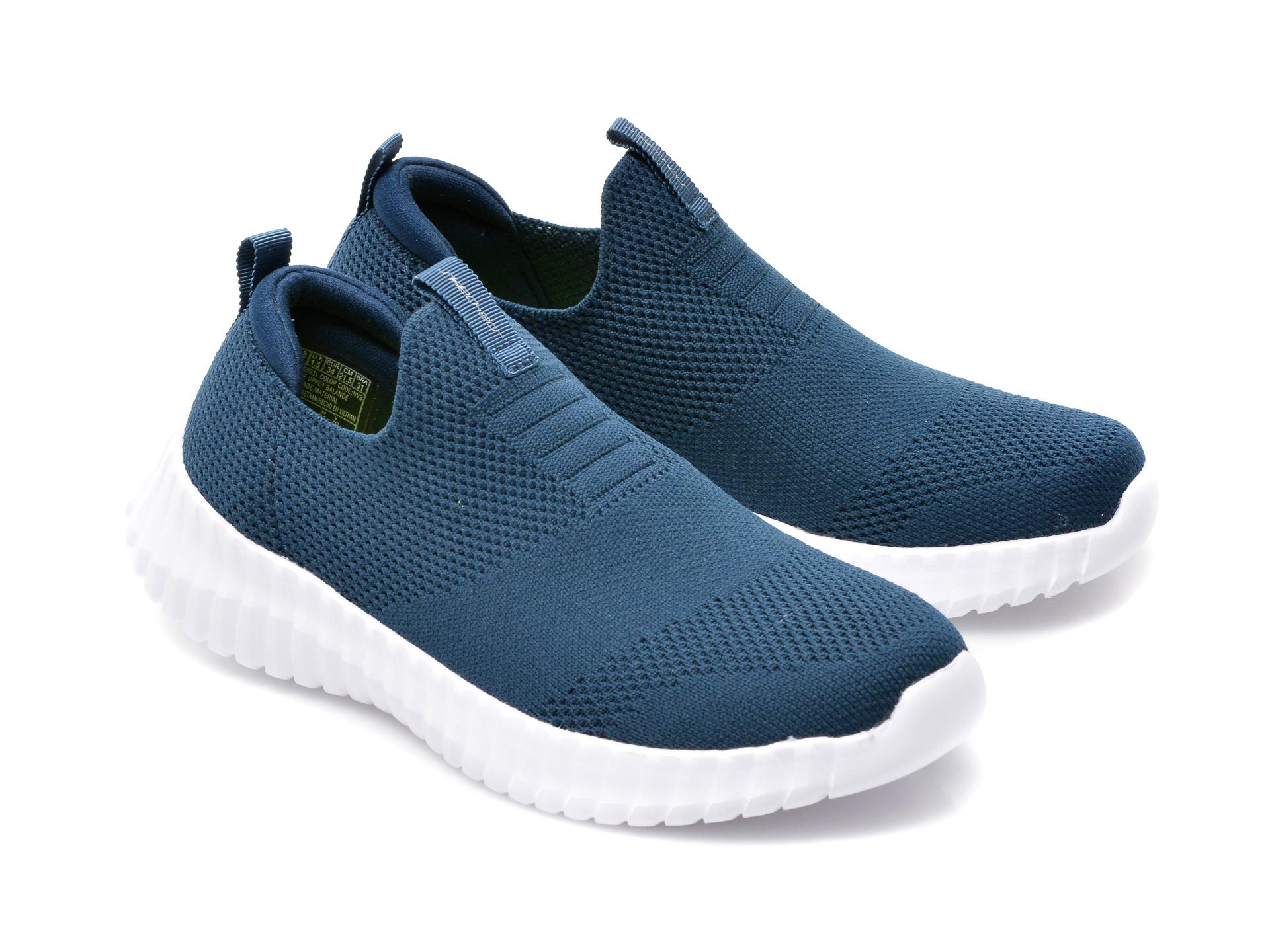 Pantofi sport SKECHERS bleumarin, Elite Flex Wasik, din material textil - 4