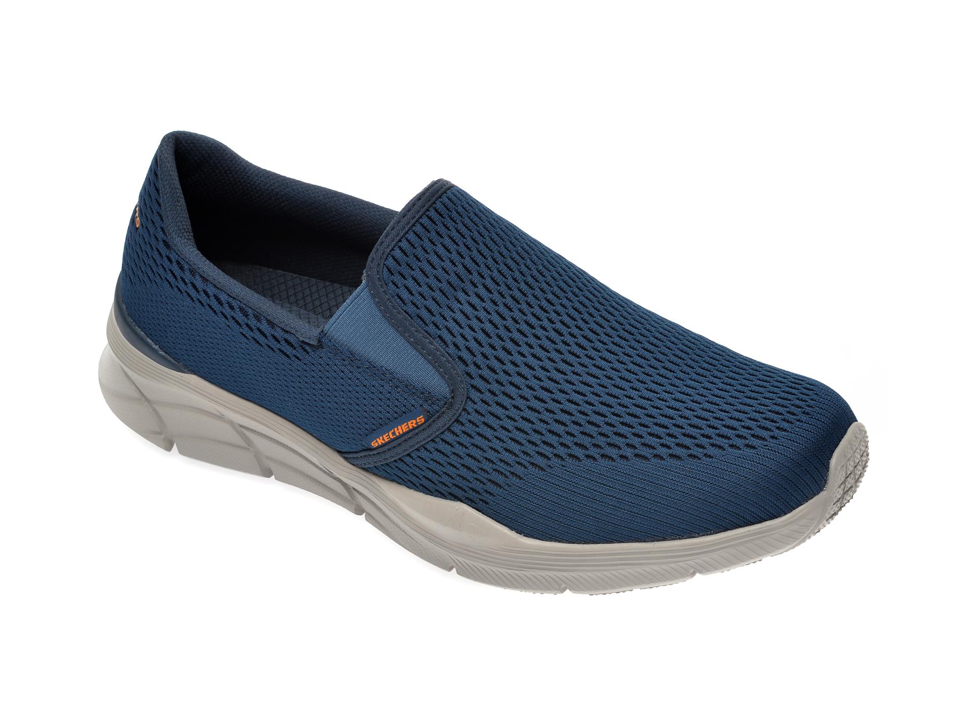 Pantofi sport SKECHERS bleumarin, Equalizer 4.0, din material textil imagine