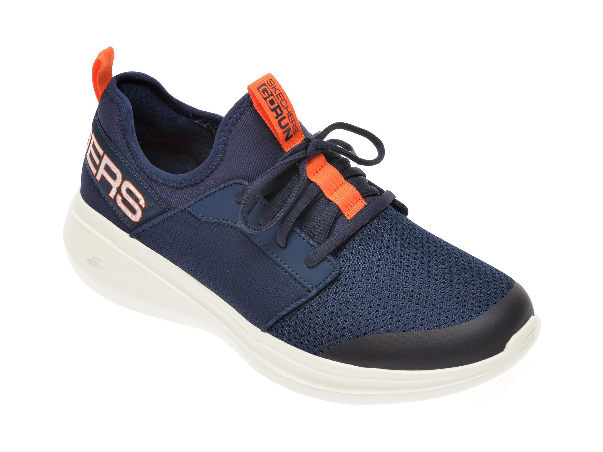 Pantofi sport SKECHERS bleumarin, Go Run Fast, din material textil imagine