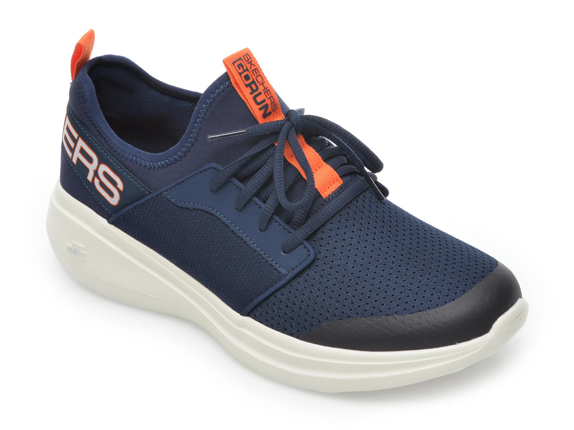 Pantofi sport SKECHERS bleumarin, Go Run Fast Steadfast, din material textil imagine