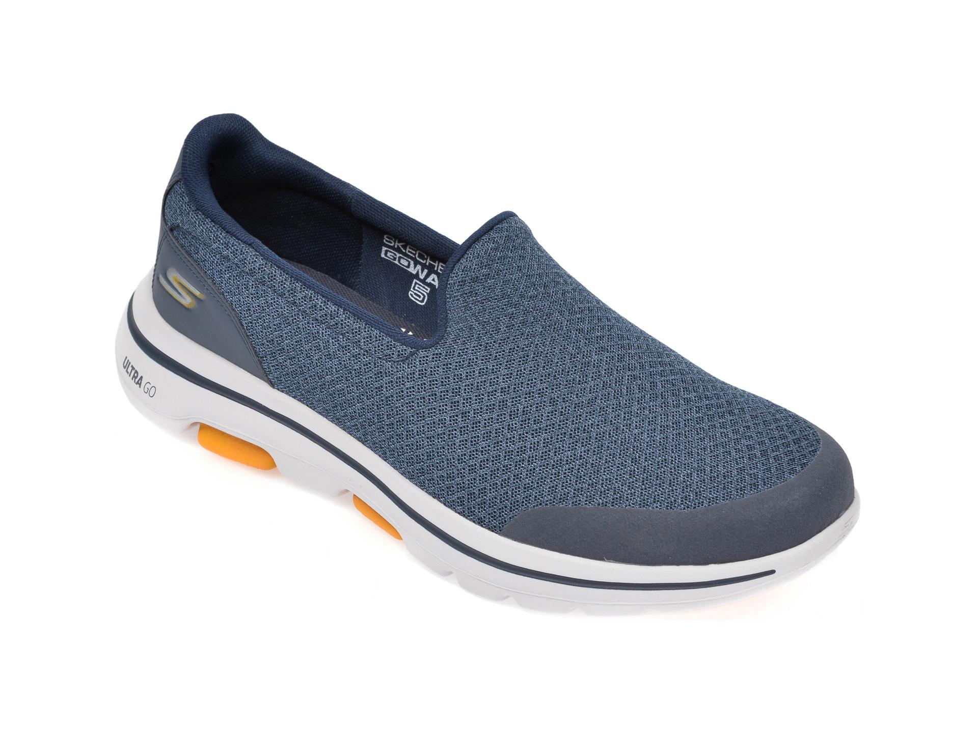 Pantofi sport SKECHERS bleumarin, Go Walk 5 Sparrow, din material textil imagine