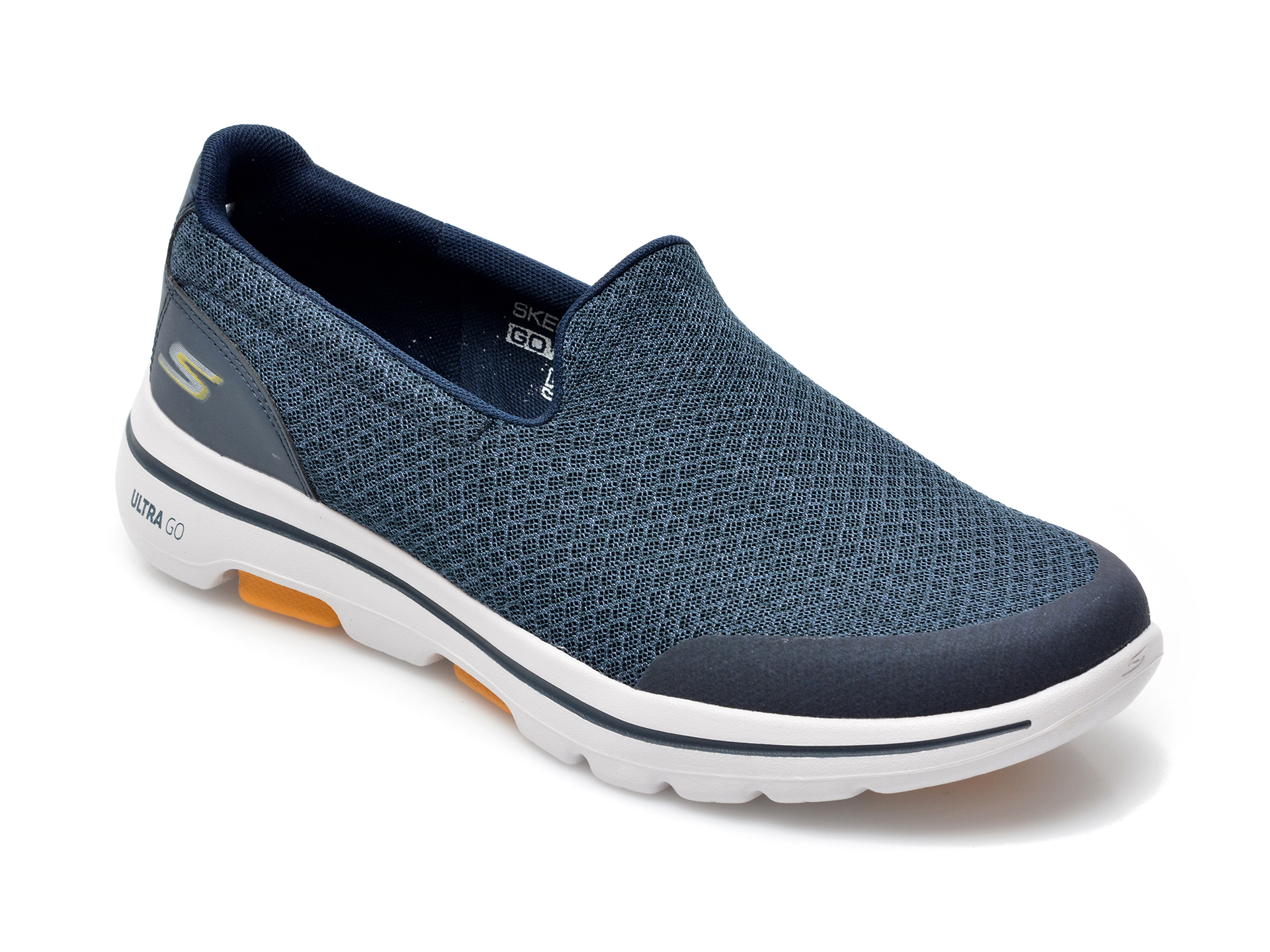 Pantofi sport SKECHERS bleumarin, Go Walk, din material textil imagine 2021 otter.ro
