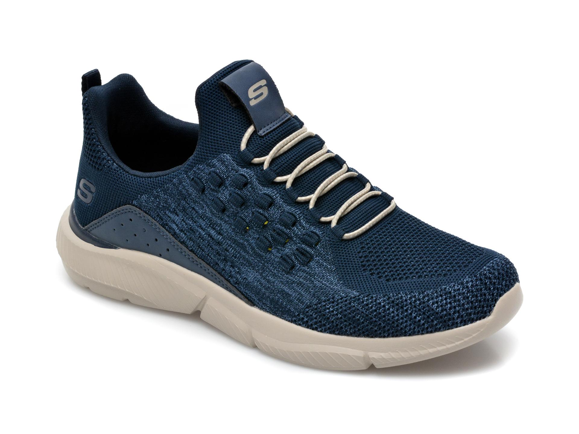 Pantofi sport SKECHERS bleumarin, Ingram Streetway, din material textil imagine