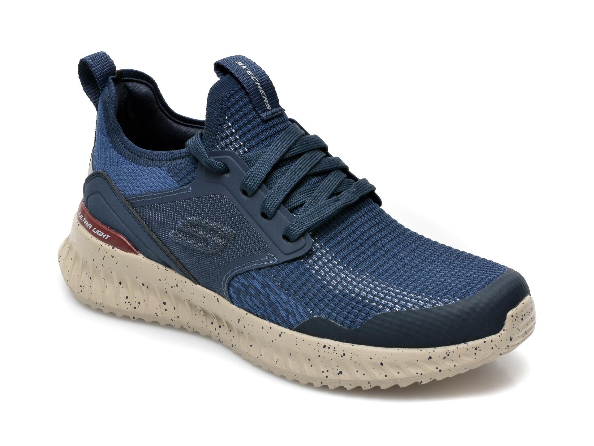 Pantofi sport SKECHERS bleumarin, Matera 2.0Celdra, din material textil imagine