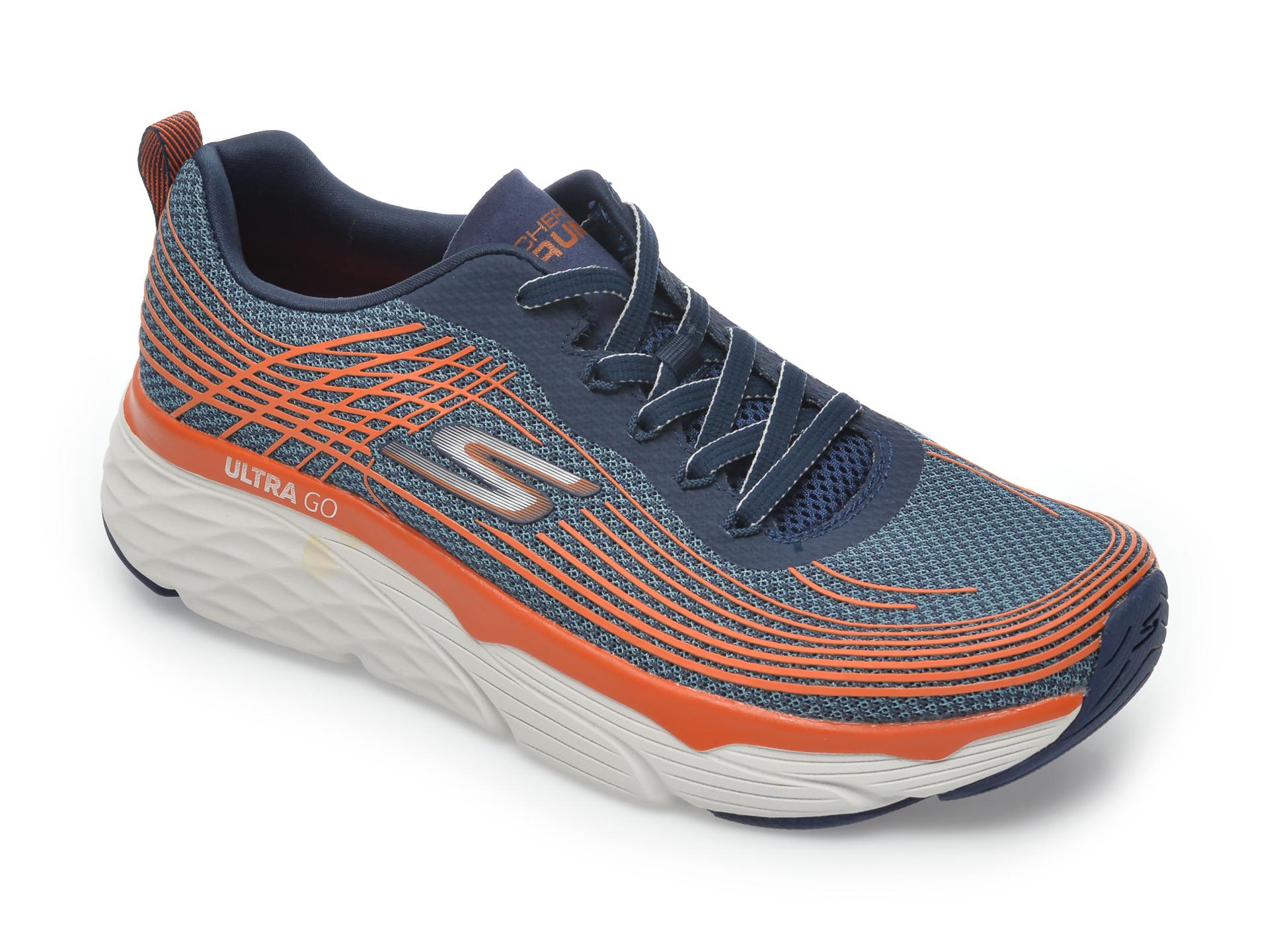 Pantofi sport SKECHERS bleumarin, Max Cushioning Elite, din material textil imagine