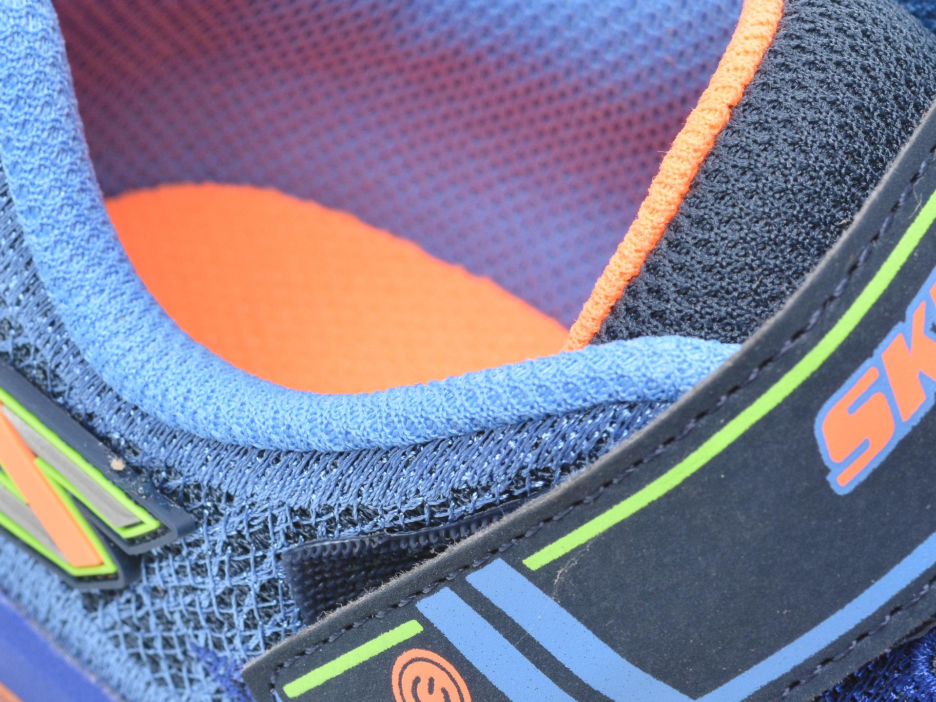 Pantofi sport SKECHERS bleumarin, Mega-Surge, din material textil si piele ecologica - 3